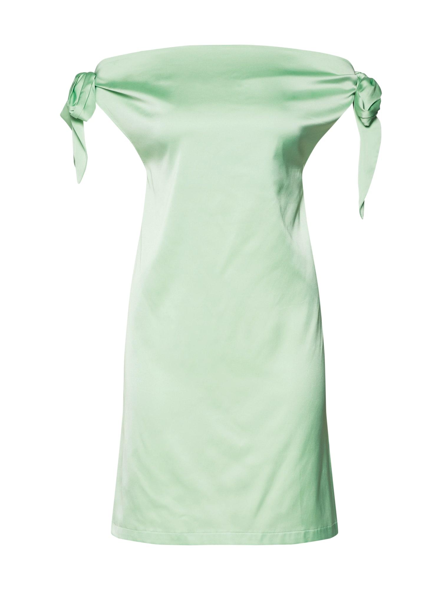 IVYREVEL Vasarinė suknelė šviesiai žalia