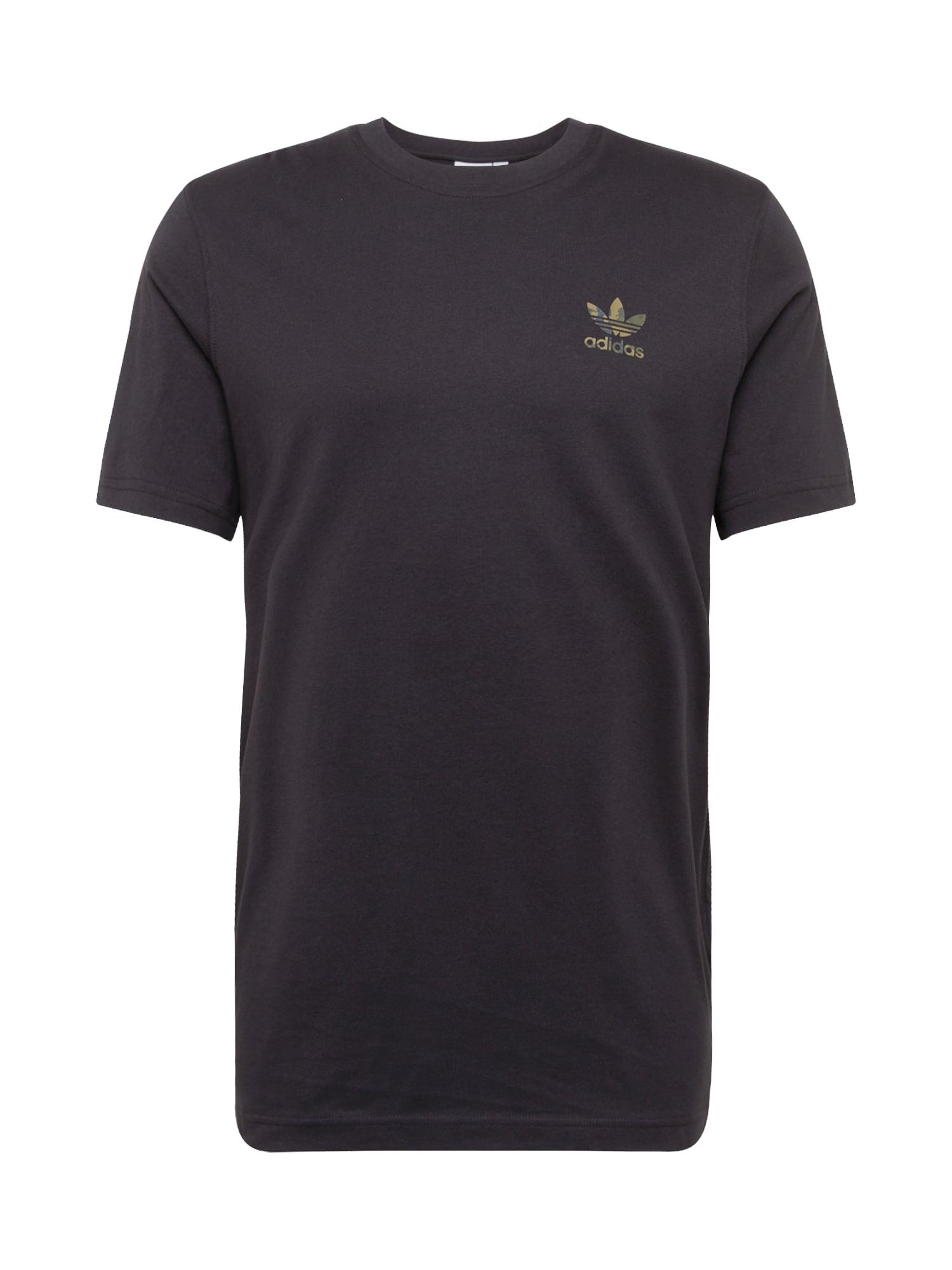 ADIDAS ORIGINALS Marškinėliai 'CAMO' juoda