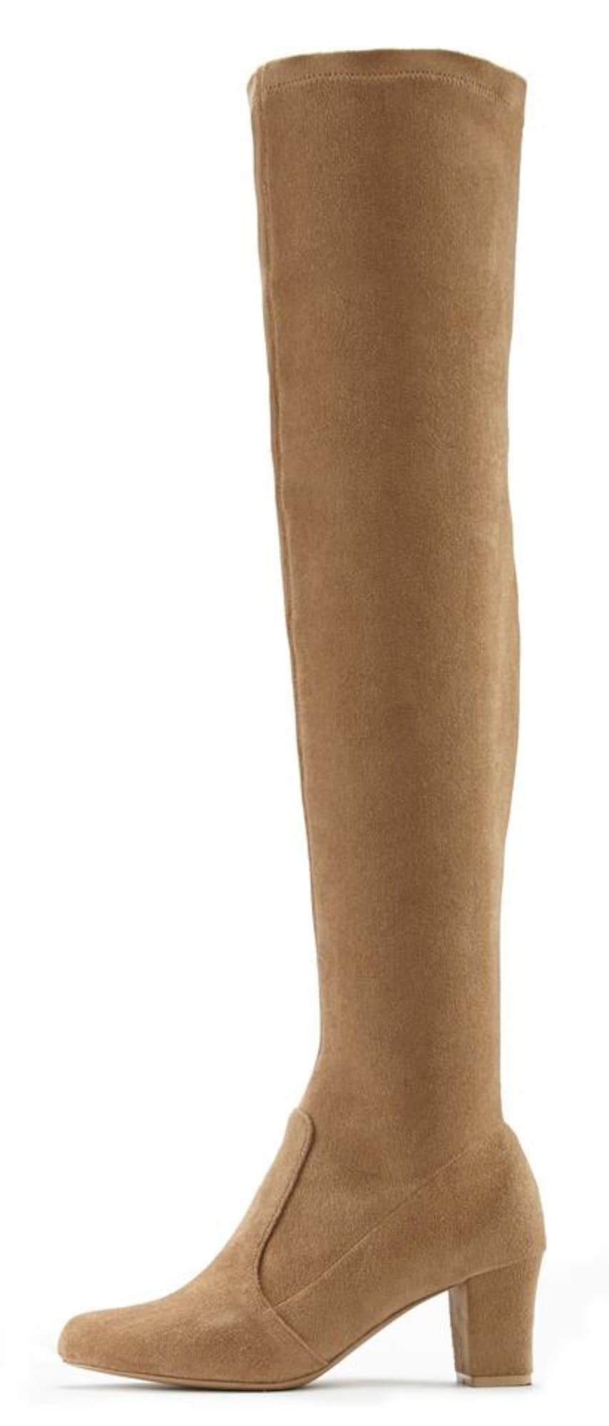 LASCANA Ilgaauliai batai virš kelių smėlio