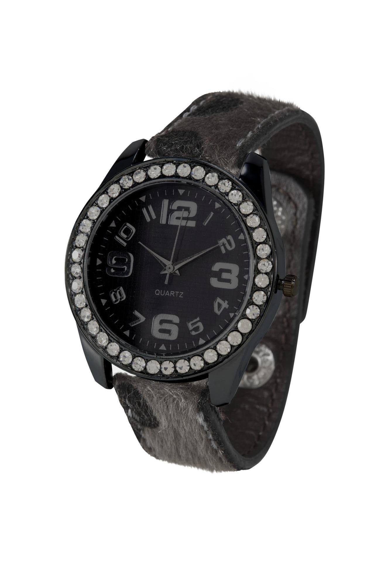 heine Analoginis (įprasto dizaino) laikrodis juoda