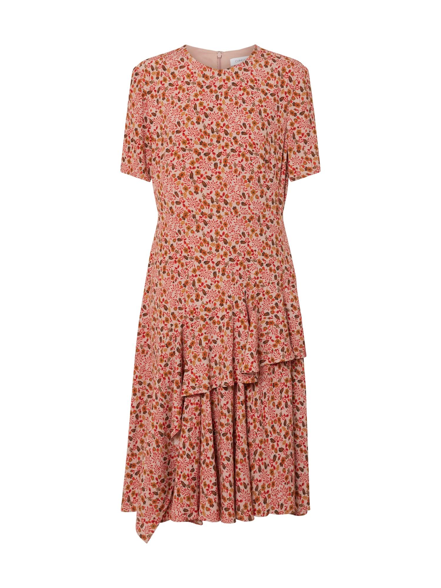 Calvin Klein Vasarinė suknelė rožių spalva