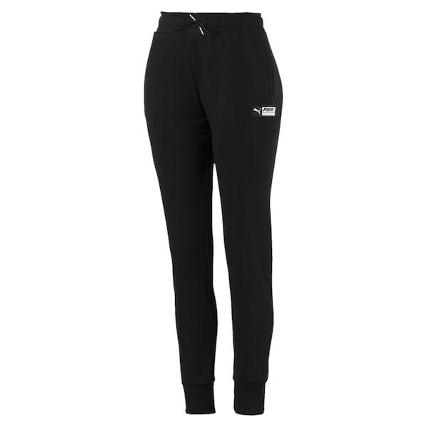 Hosen für Frauen - PUMA Trainingshose 'TZ' schwarz weiß  - Onlineshop ABOUT YOU