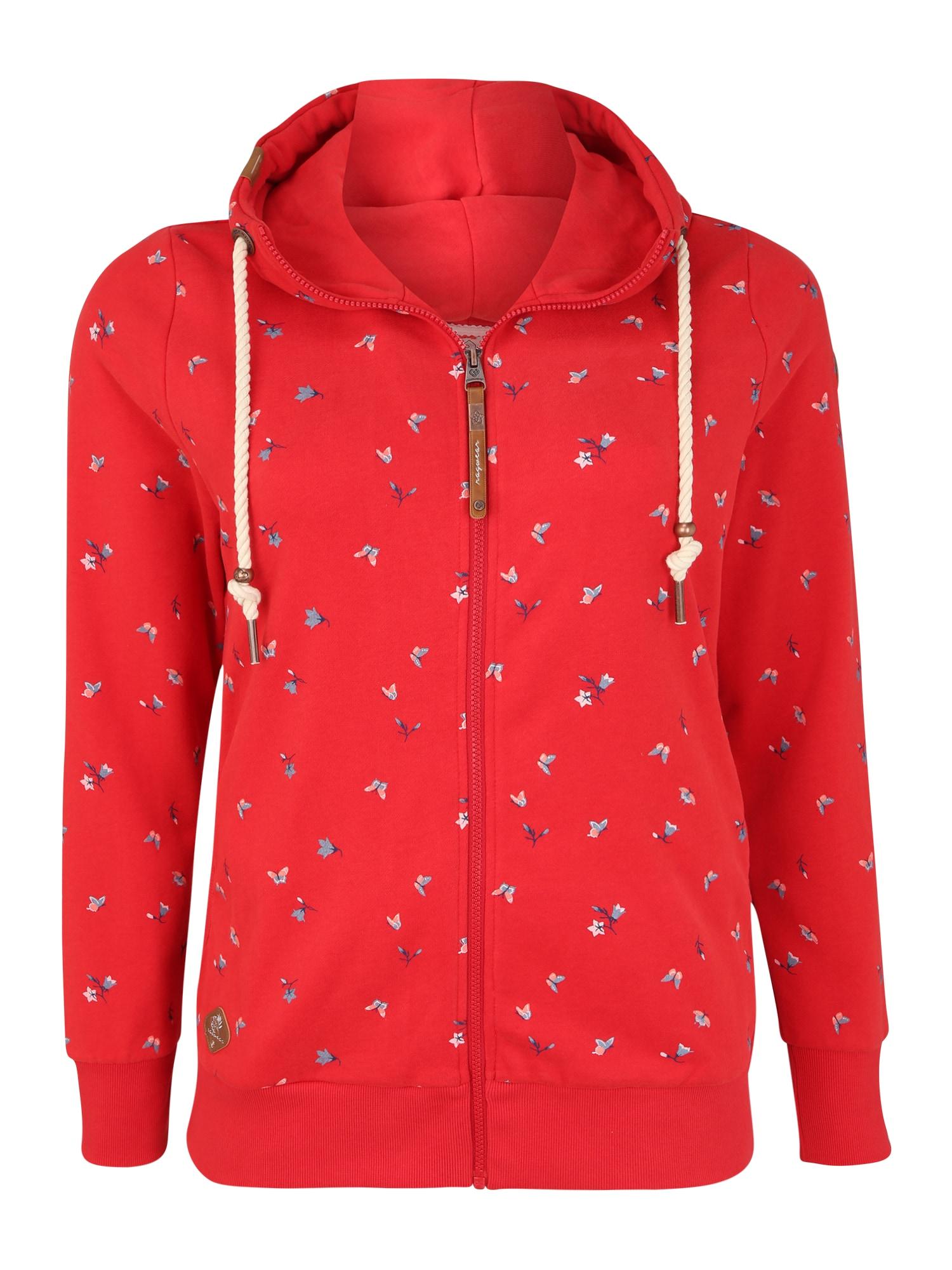 Ragwear Plus Džemperis raudona
