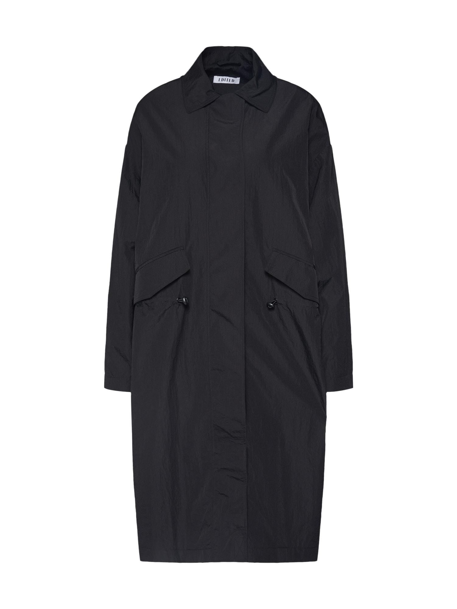 EDITED Rudeninis-žieminis paltas 'Ingvar' juoda