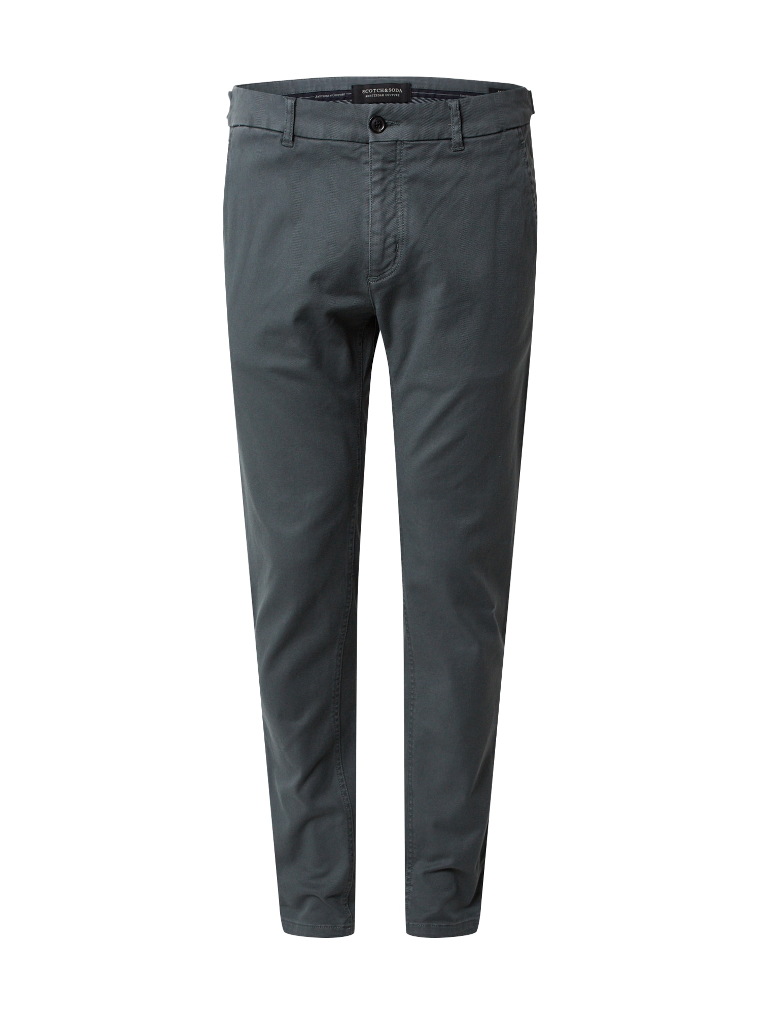 SCOTCH & SODA Chino kalhoty 'MOTT'  tmavě zelená