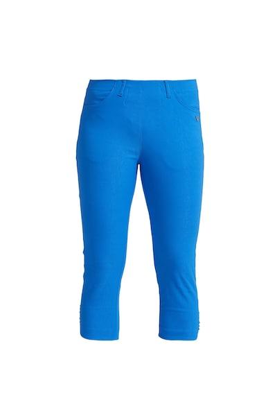 Hosen für Frauen - LauRie 3 4 Hose 'Mona' mit auffälligen Nieten blau  - Onlineshop ABOUT YOU