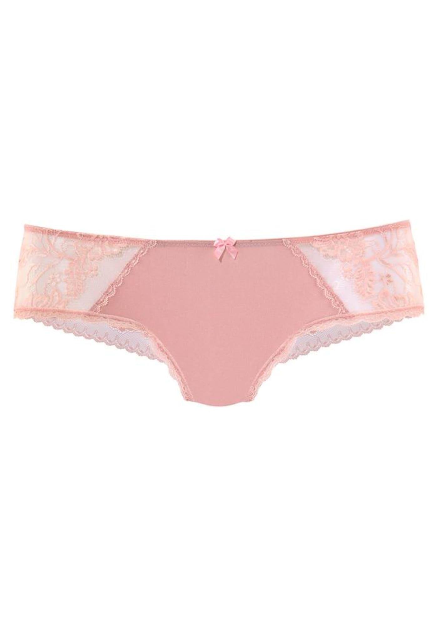 LASCANA Kelnaitės paaukštintu liemeniu ryškiai rožinė spalva