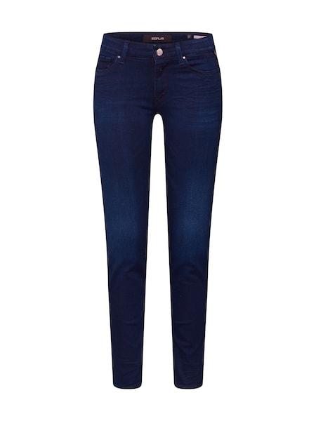 Hosen - Jeans 'LUZ HIGH WAIST Pants' › Replay › blau  - Onlineshop ABOUT YOU