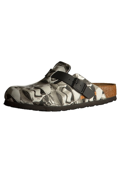 Clogs - Clogs 'Boston Star Wars' › Birkenstock › grau schwarz weiß  - Onlineshop ABOUT YOU