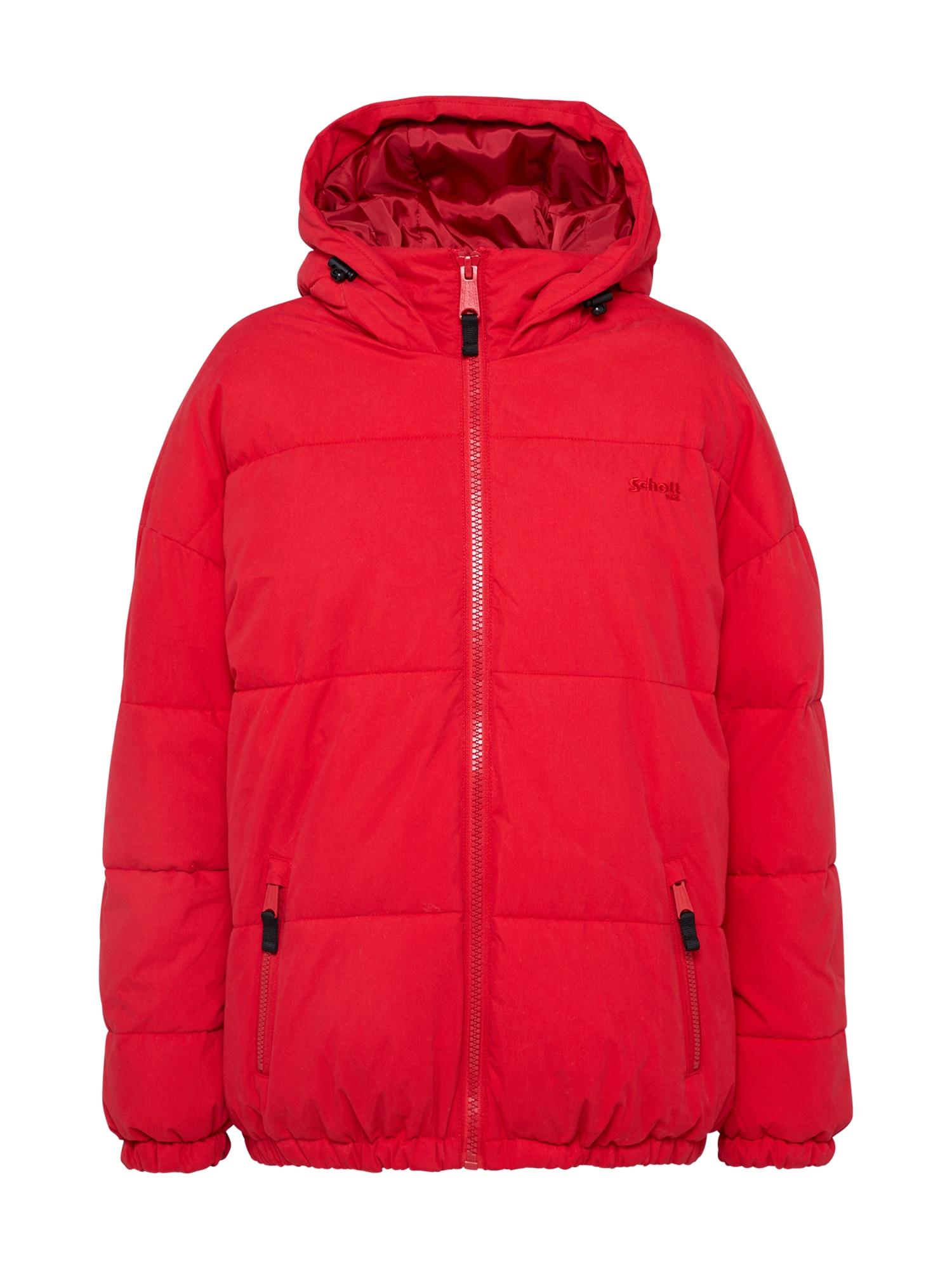 Schott NYC Žieminė striukė 'JKT Alaska' raudona