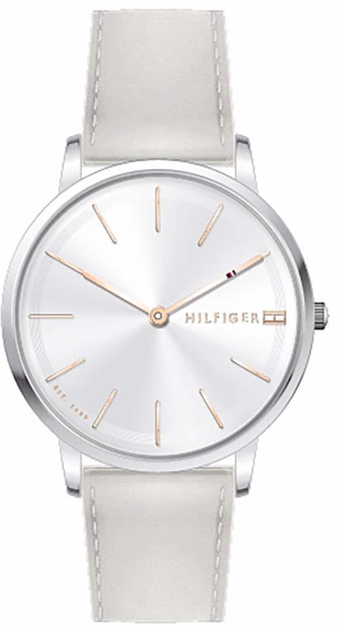 TOMMY HILFIGER Analoginis (įprasto dizaino) laikrodis pilka
