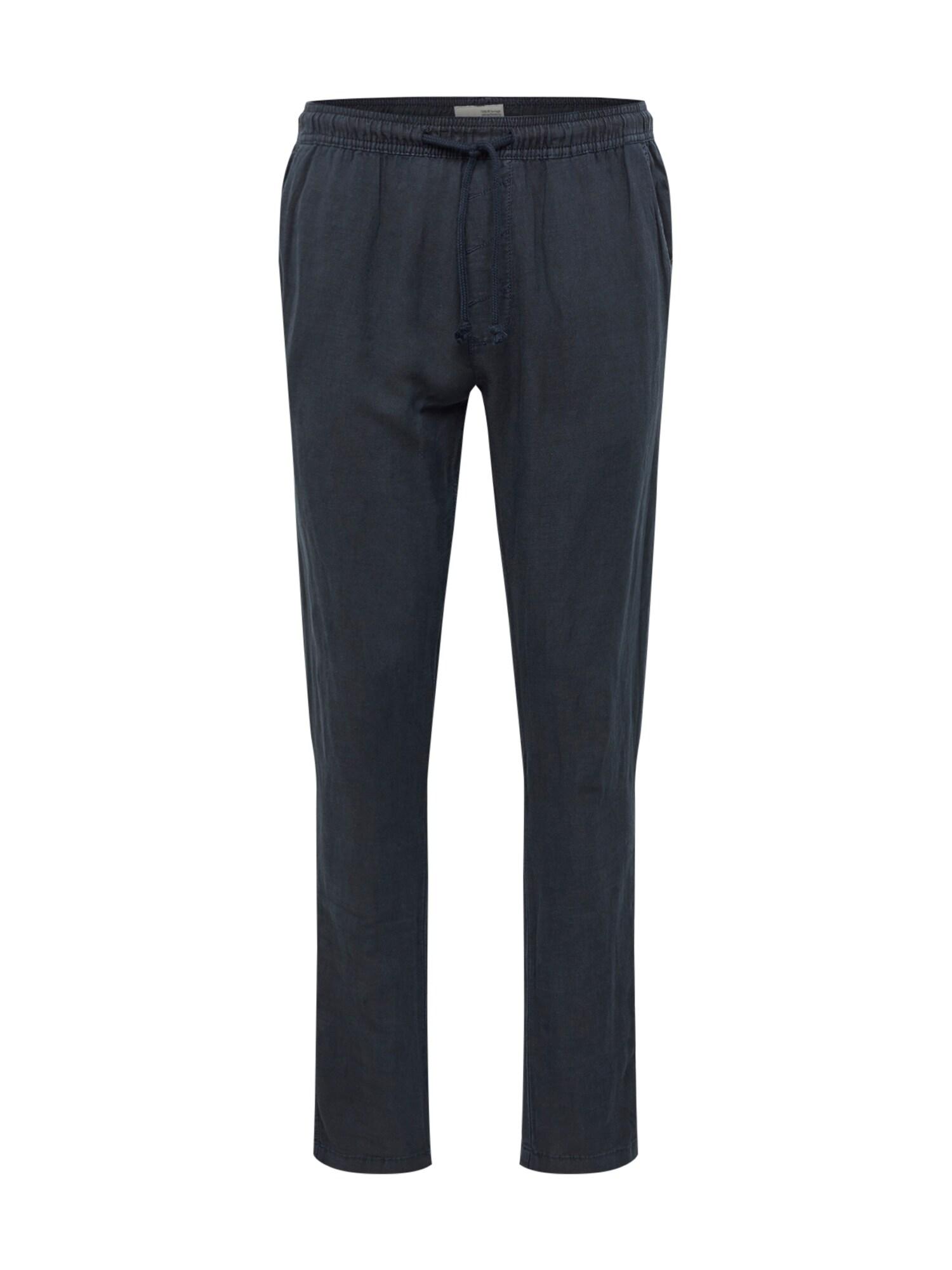 Kalhoty Slim-Truc tmavě modrá !Solid