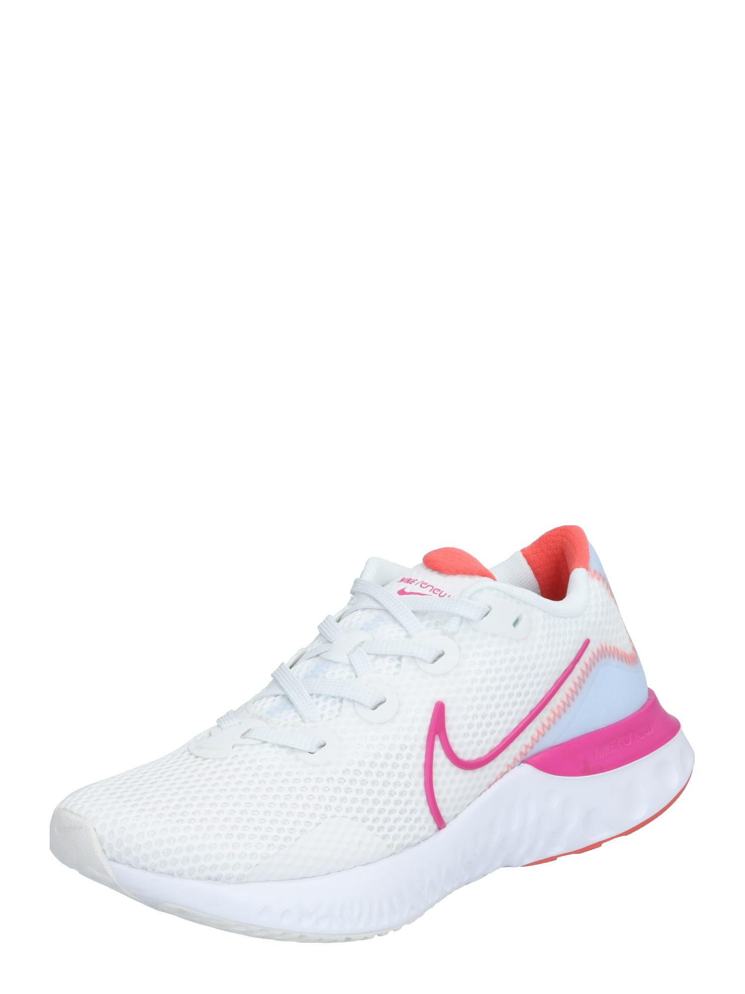 NIKE Bėgimo batai 'Renew Run' šviesiai mėlyna / balta / rožinė