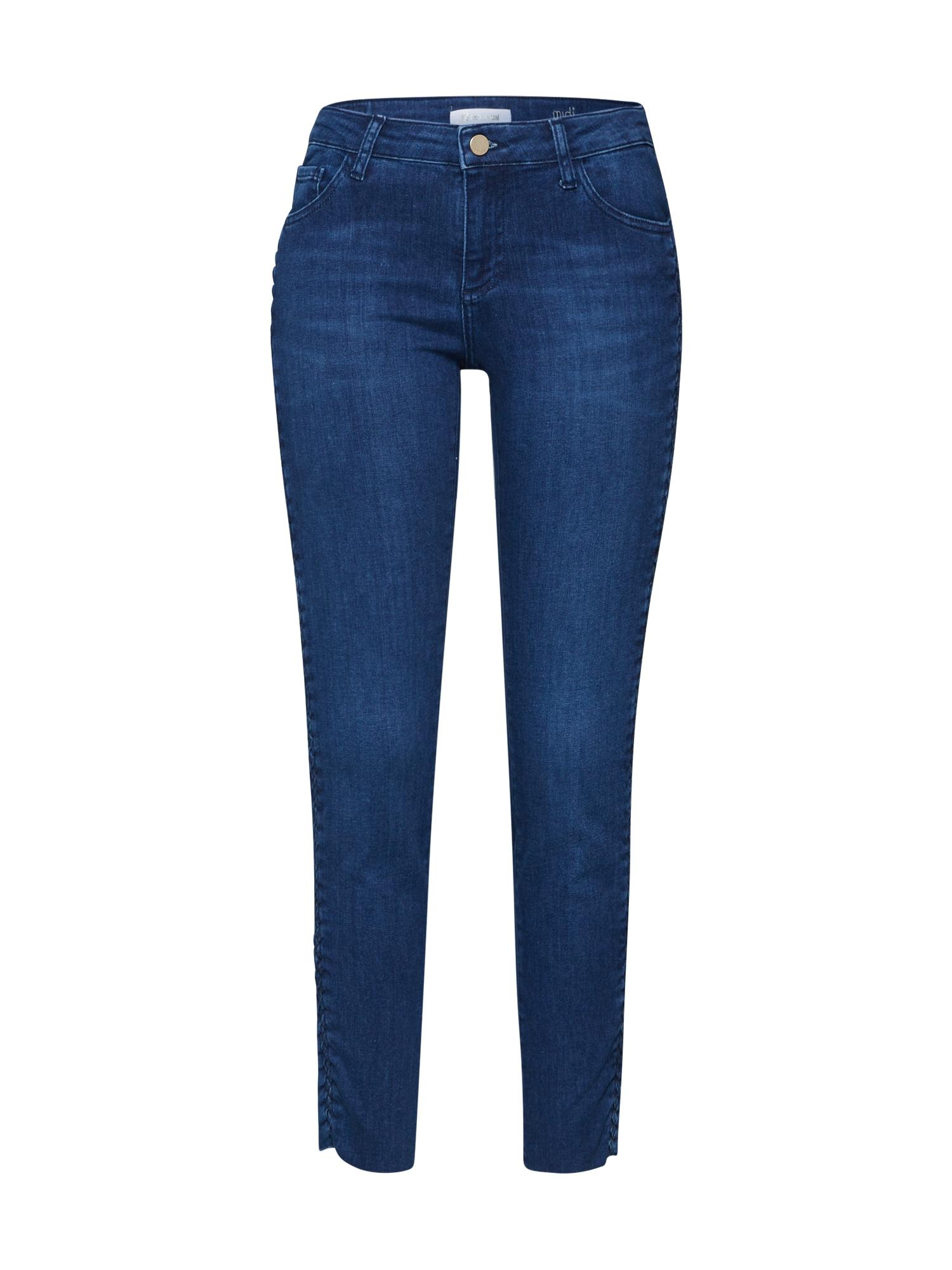 Rich & Royal Džinsai tamsiai (džinso) mėlyna