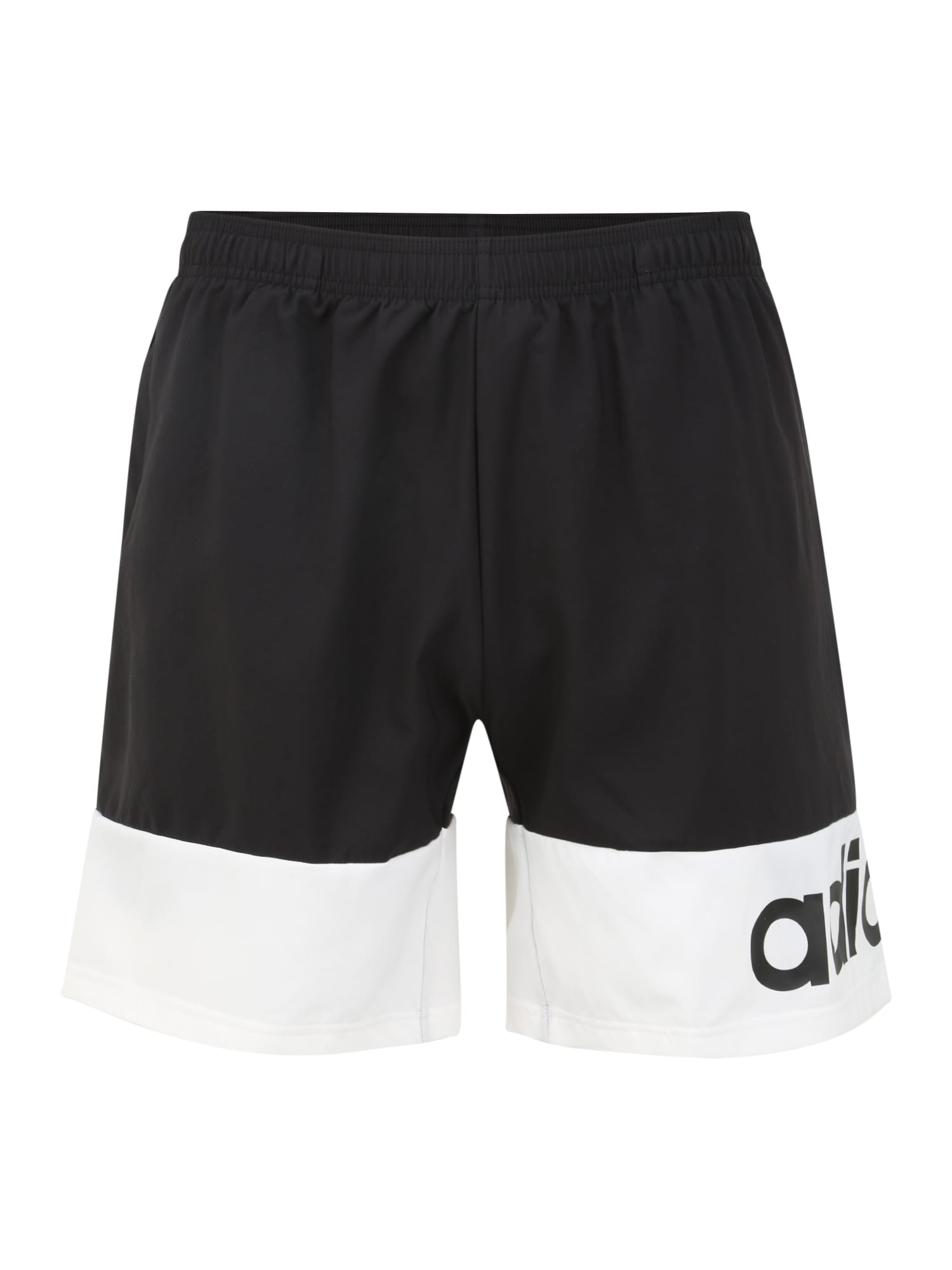ADIDAS PERFORMANCE Športové nohavice 'M D2M CB'  biela / čierna