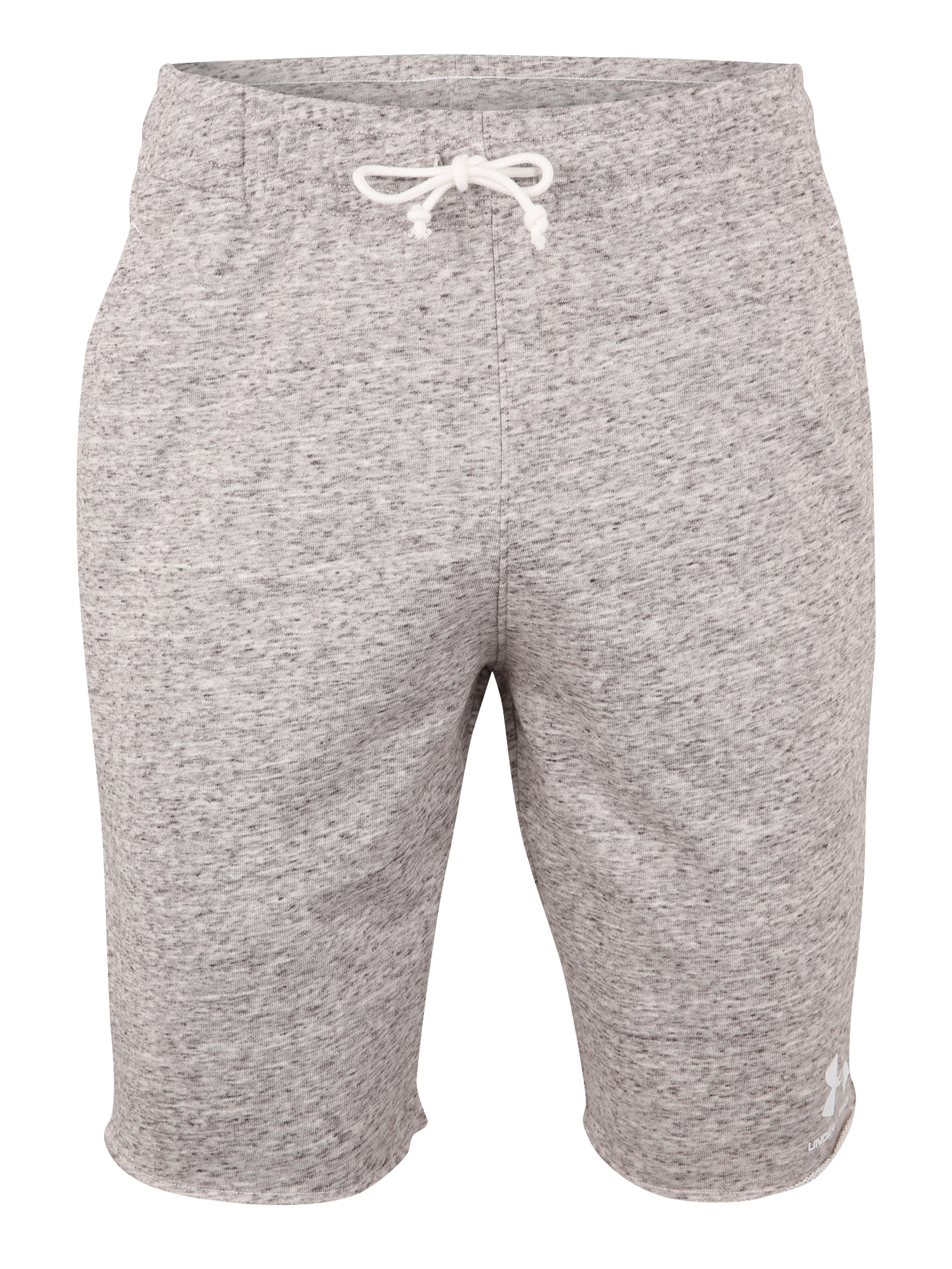 UNDER ARMOUR Sportinės kelnės 'SPORTSTYLE TERRY' balta / šviesiai pilka