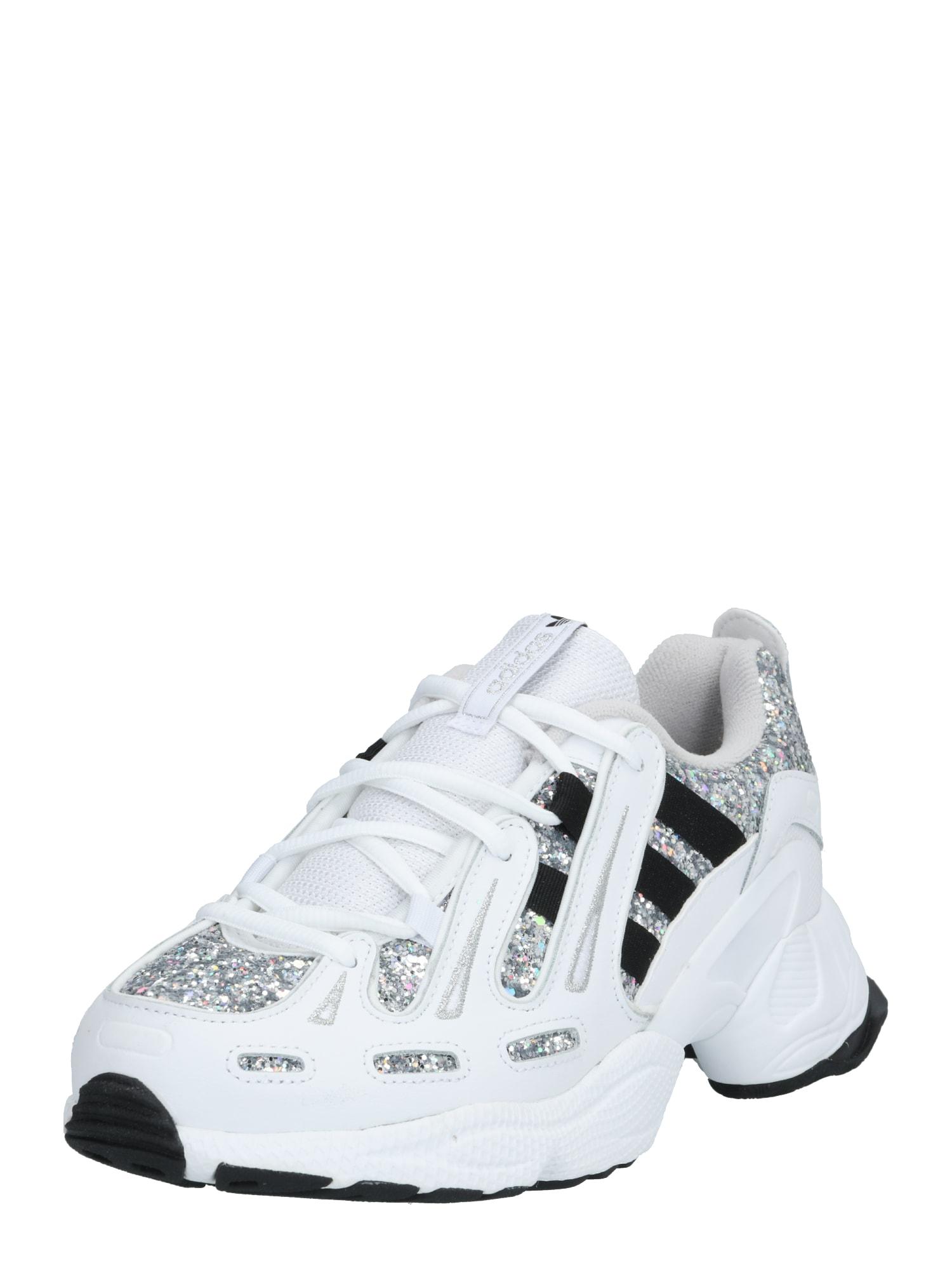 ADIDAS ORIGINALS Sneaker 'EQT'  strieborná / biela