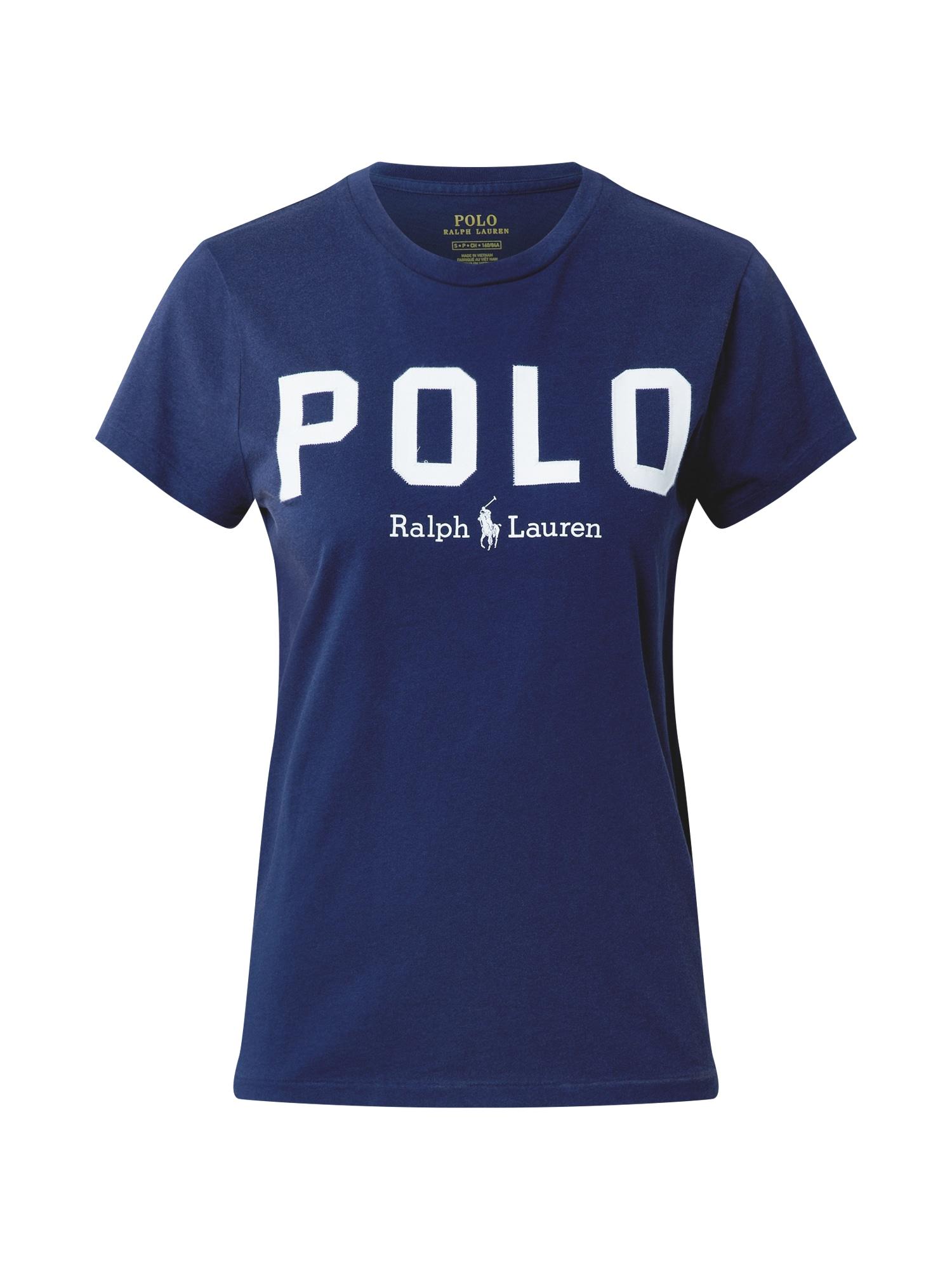 POLO RALPH LAUREN Tričko  námořnická modř / bílá