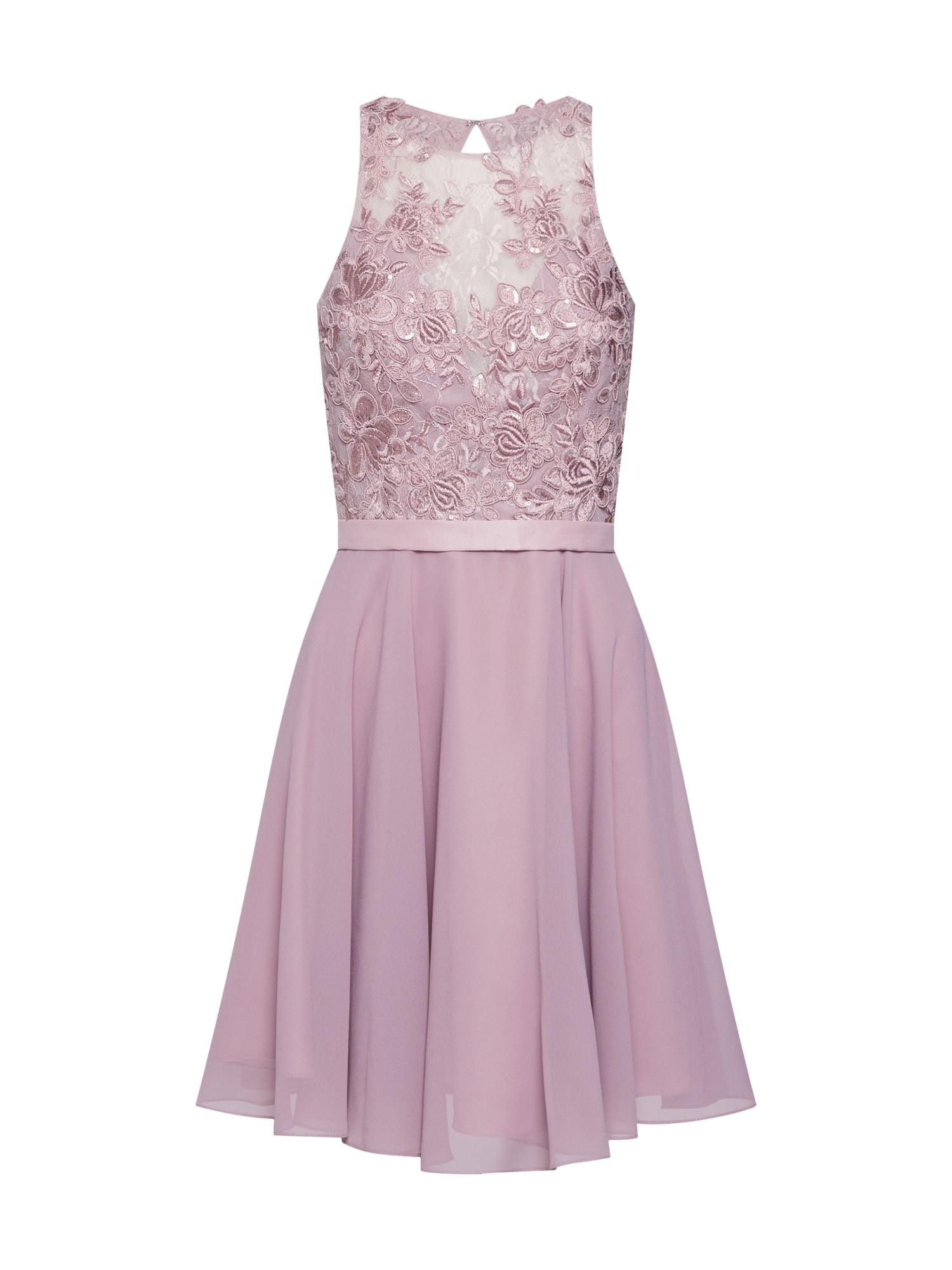 Koktejlové šaty šedobéžová MAGIC NIGHTS