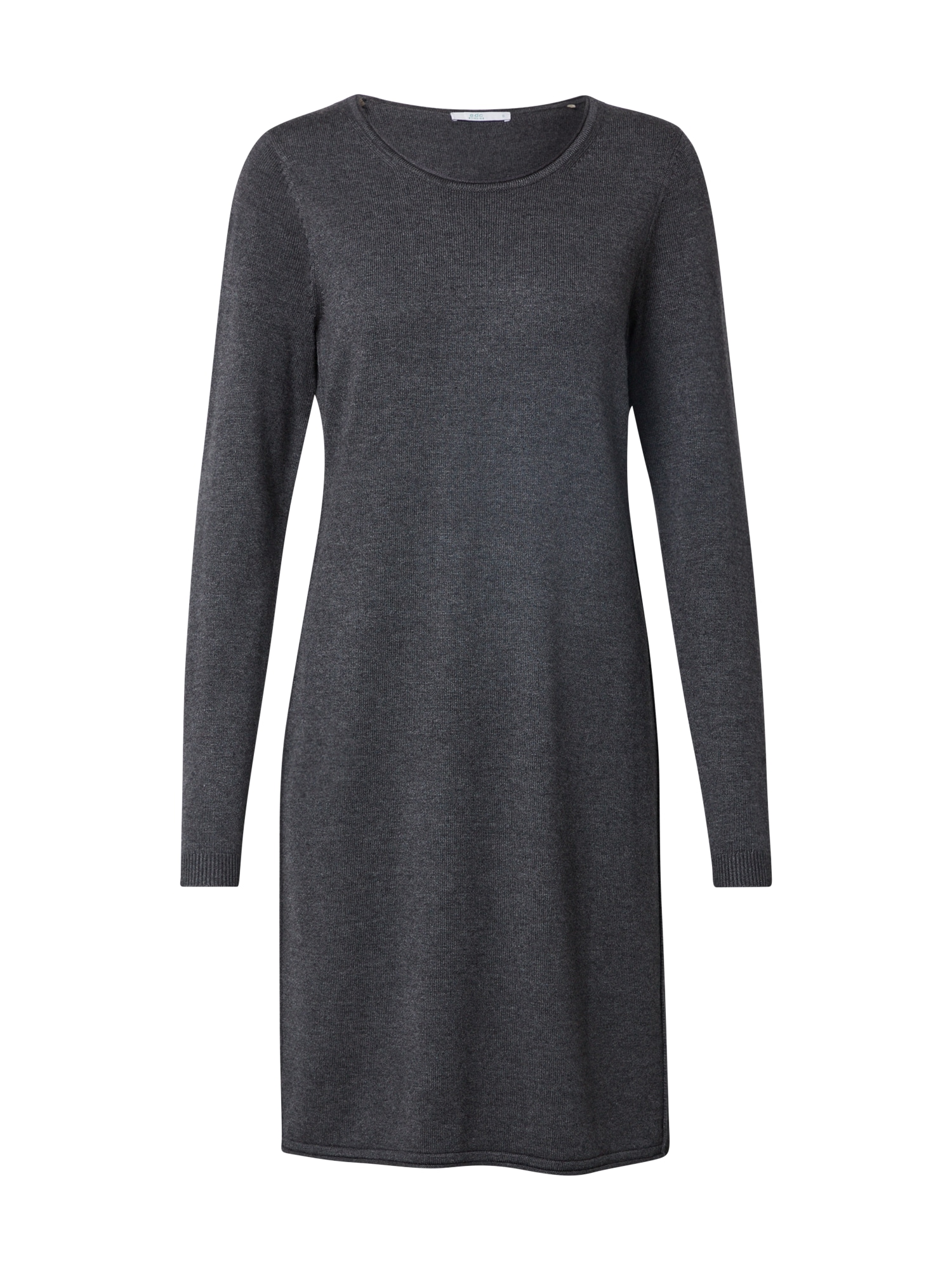 EDC BY ESPRIT Megzta suknelė tamsiai pilka