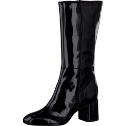 Damen TAMARIS Stiefel in Lackleder-Optik schwarz   04055157973543