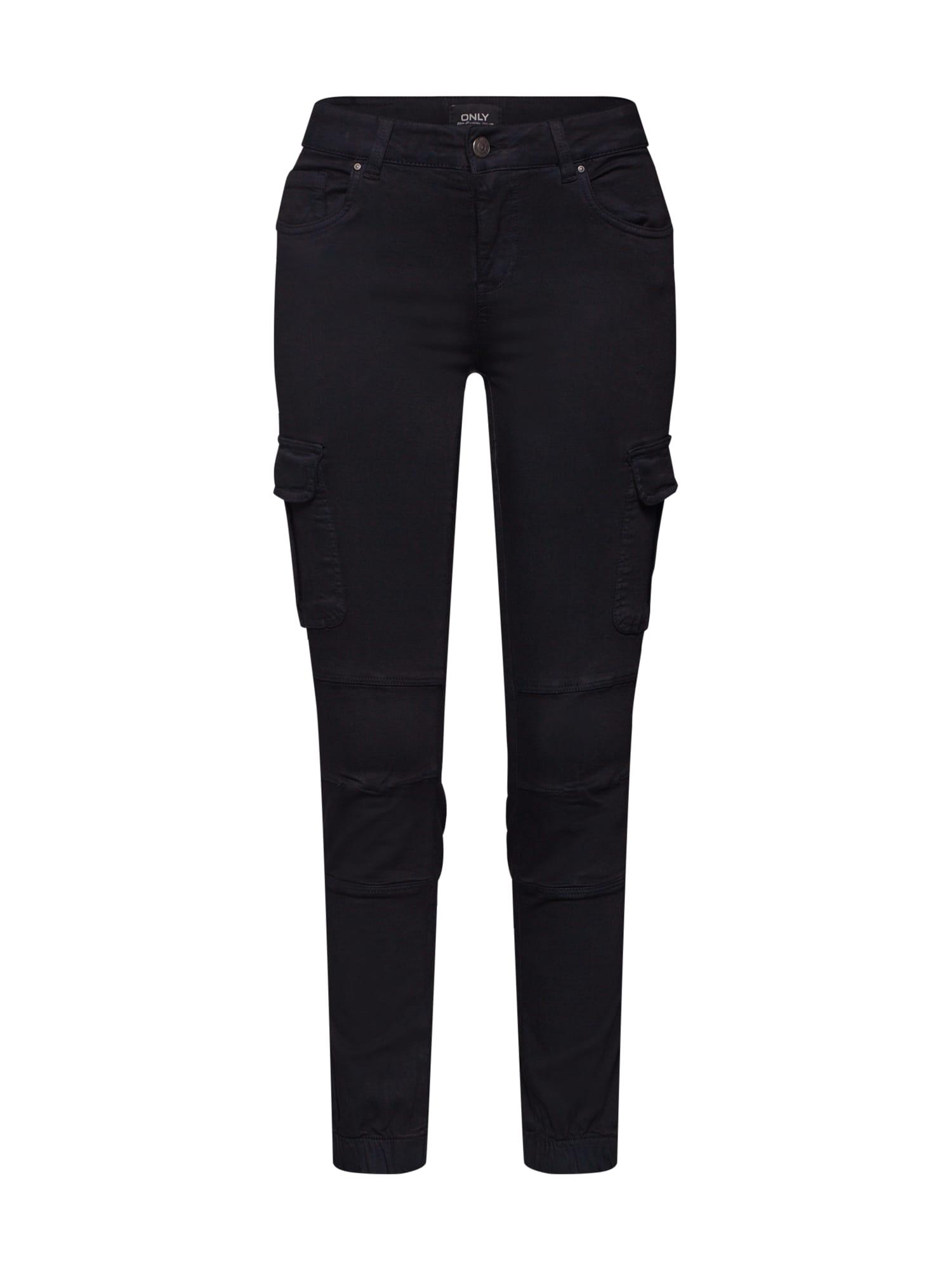 ONLY Darbinio stiliaus džinsai juoda