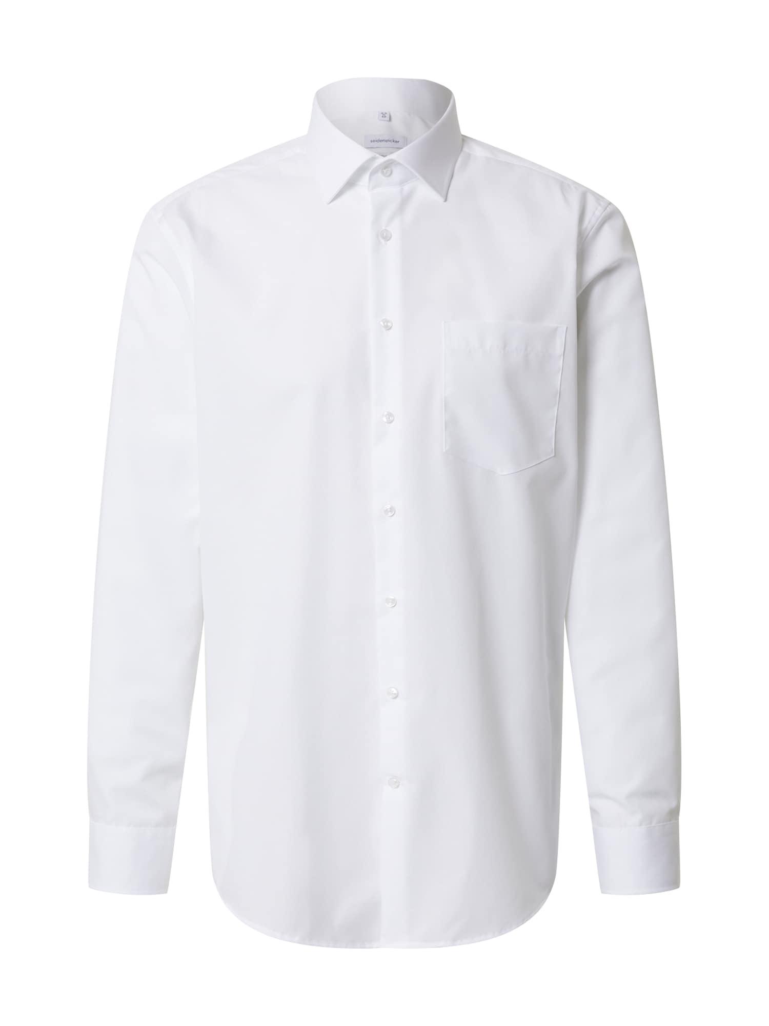 SEIDENSTICKER Dalykinio stiliaus marškiniai balta