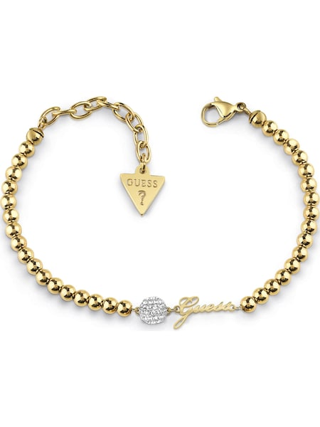 Armbaender für Frauen - GUESS Armband 'Pave JUBB78077JW' gold silber  - Onlineshop ABOUT YOU