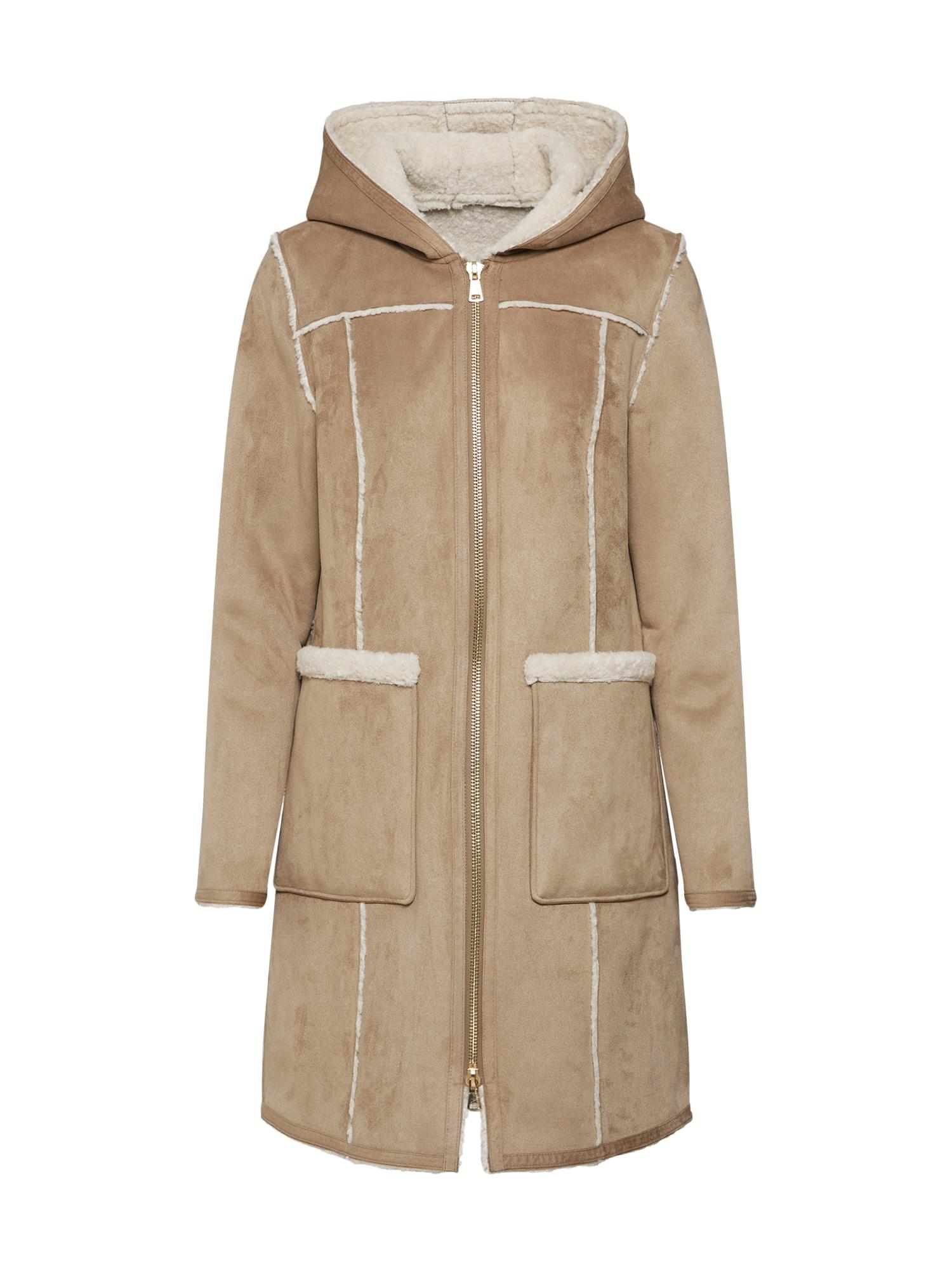 Zimní kabát Camden béžová písková OAKWOOD