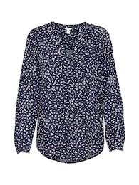 Esprit Damen sportliche Bluse blau | 04059602180616