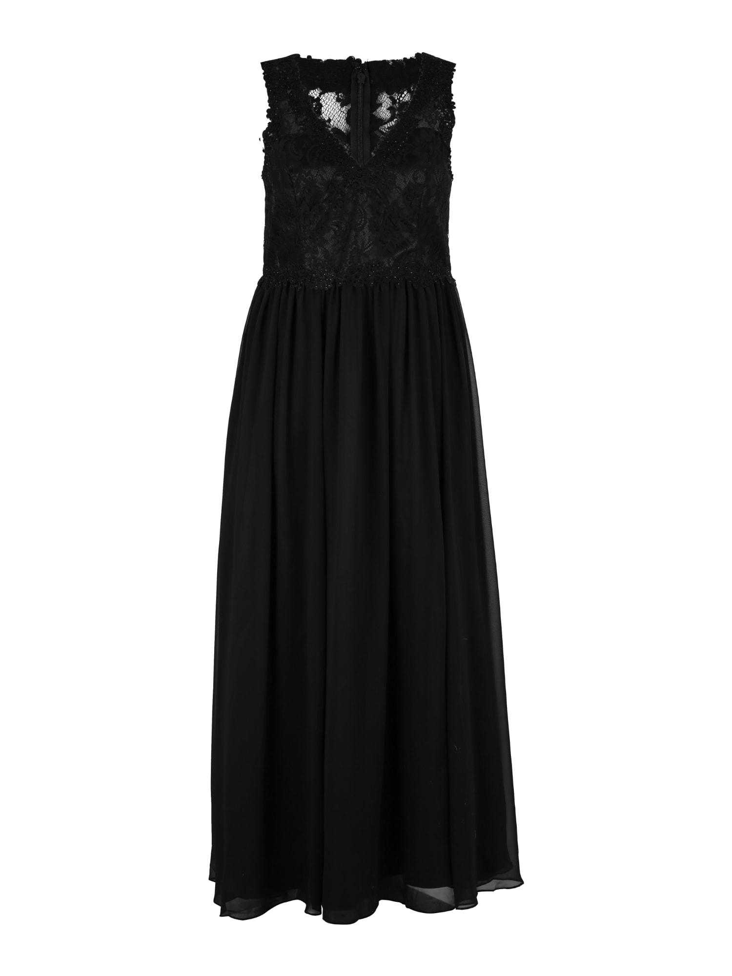My Mascara Curves Večerné šaty 'LACE'  čierna
