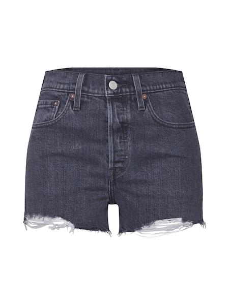 Hosen für Frauen - LEVI'S Shorts '501®' black denim  - Onlineshop ABOUT YOU