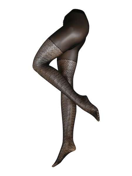 Strumpfhosen für Frauen - Strumpfhose 'Wild Luxe TI' › Falke › schwarz  - Onlineshop ABOUT YOU