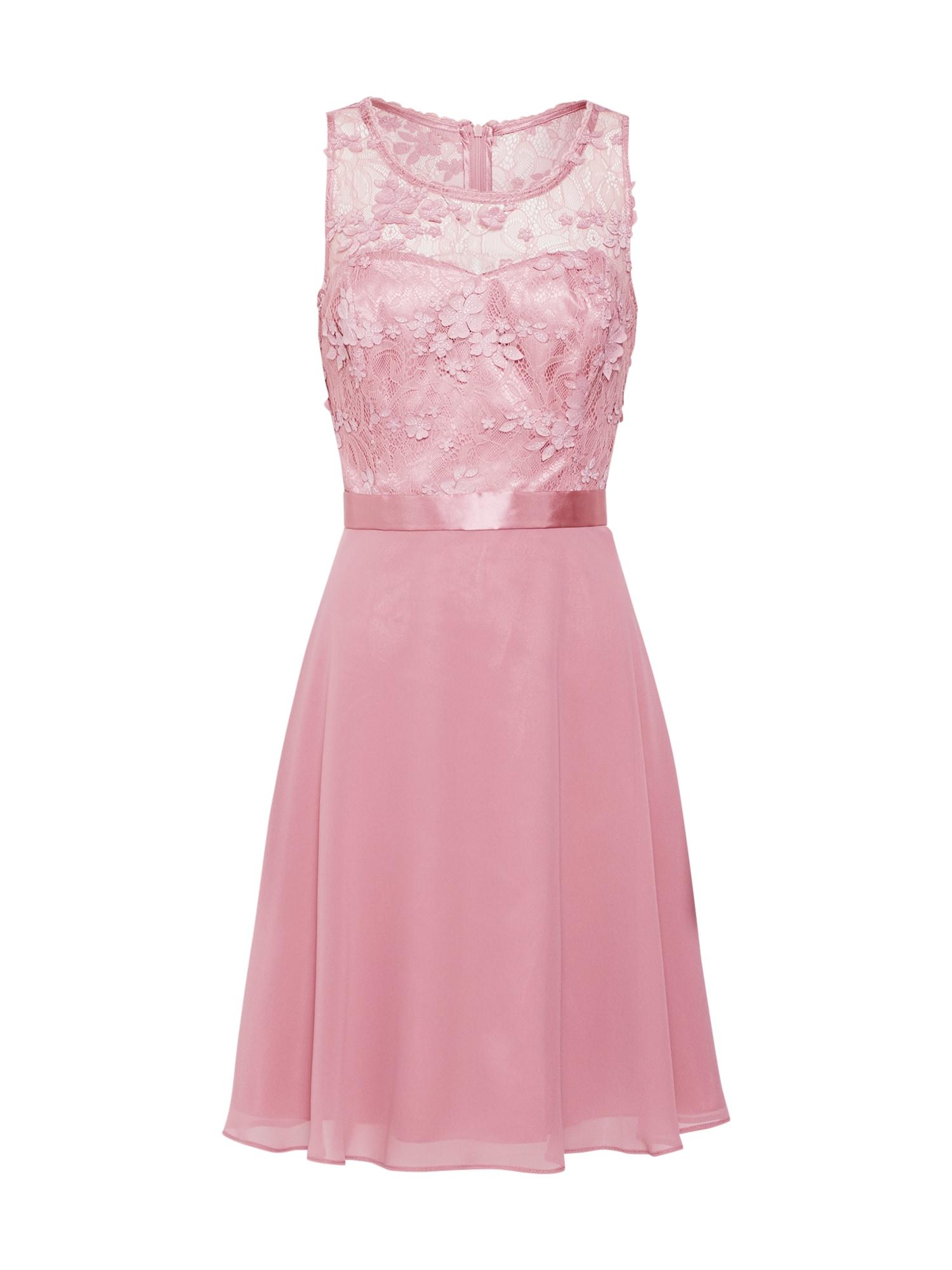 Koktejlové šaty pink VM Vera Mont