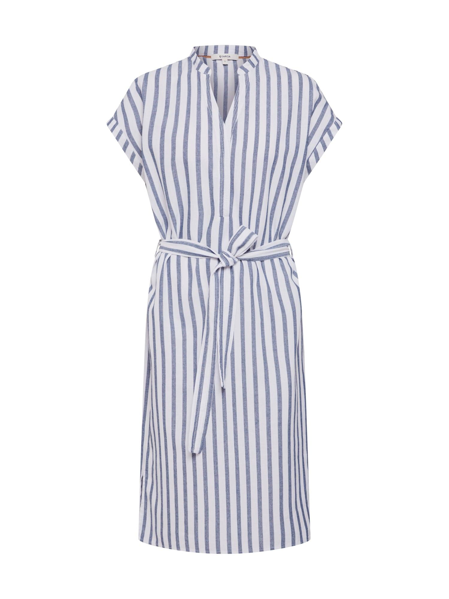 Letní šaty modrá bílá GARCIA