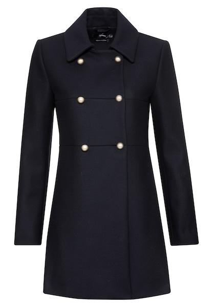 Jacken für Frauen - HALLHUBER Wollmantel blau  - Onlineshop ABOUT YOU
