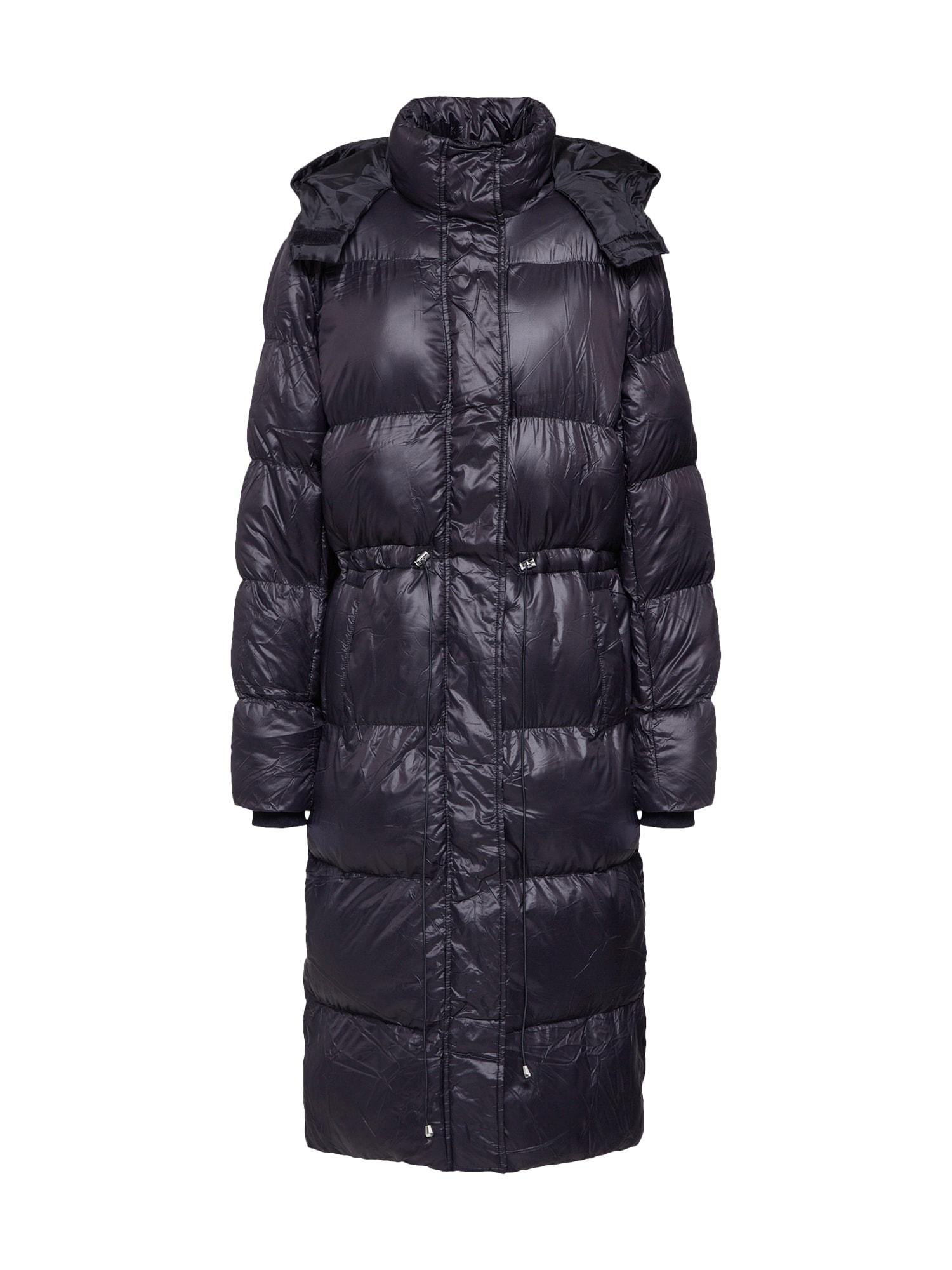 Missguided Palton de iarnă 'Longline Puffer Jacket'  negru