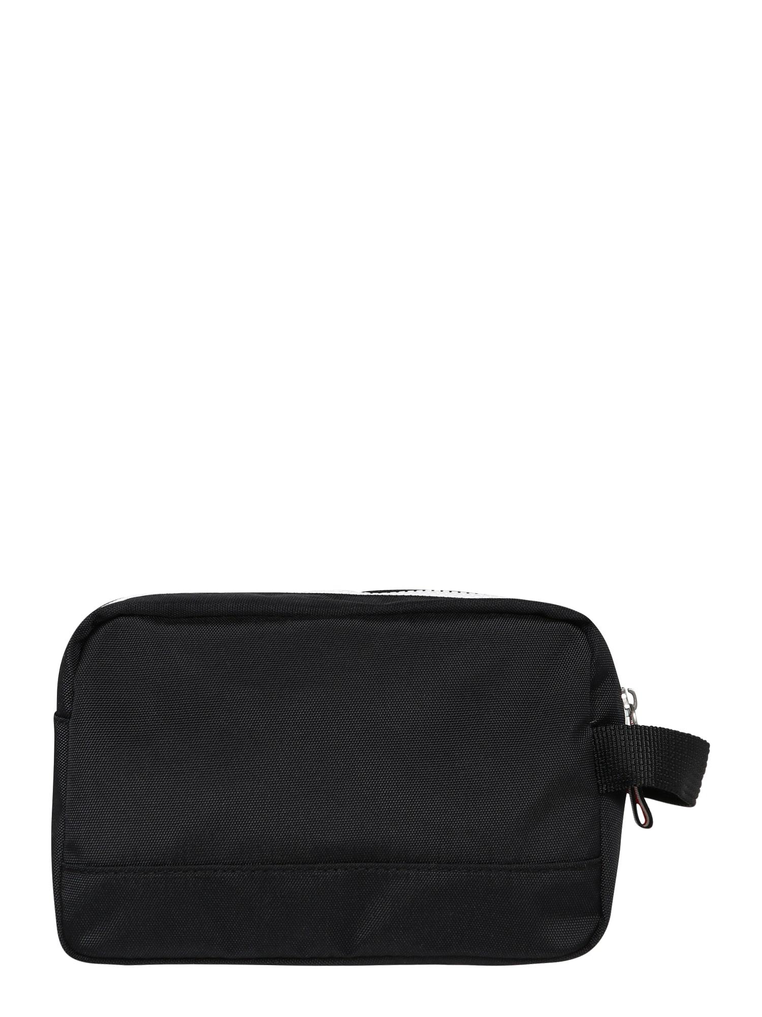 Tommy Jeans Plovimo krepšys 'TJM COOL CITY WASHBAG NYL' juoda