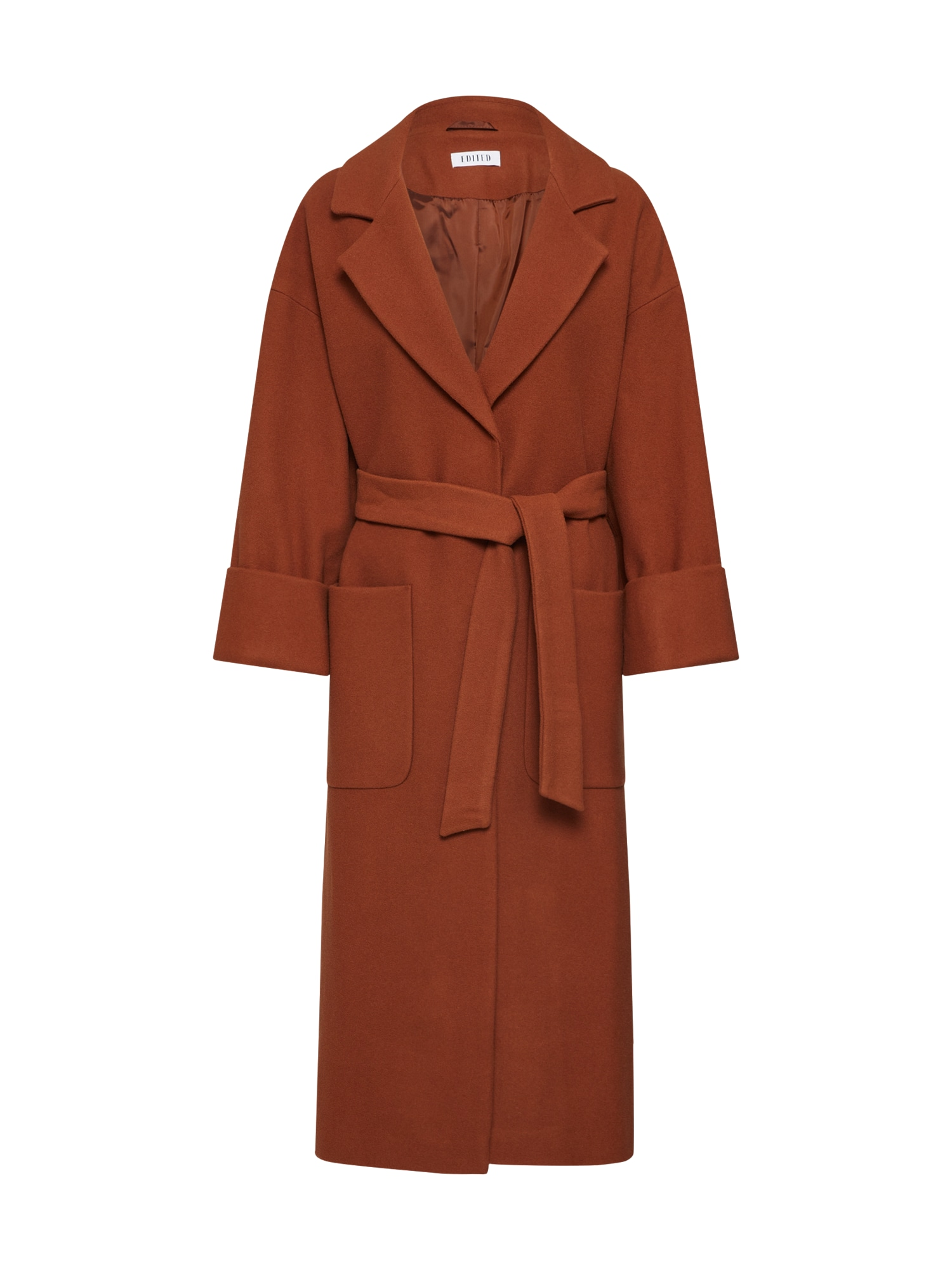 EDITED Rudeninis-žieminis paltas 'Santo' ruda