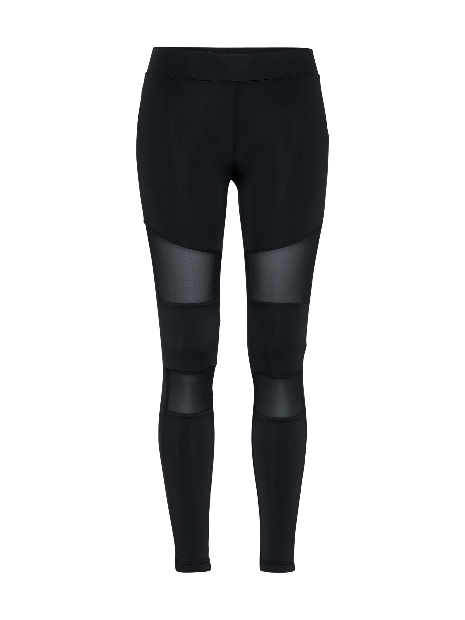 Urban Classics Leggings 'Ladies Tech Mesh'  negru