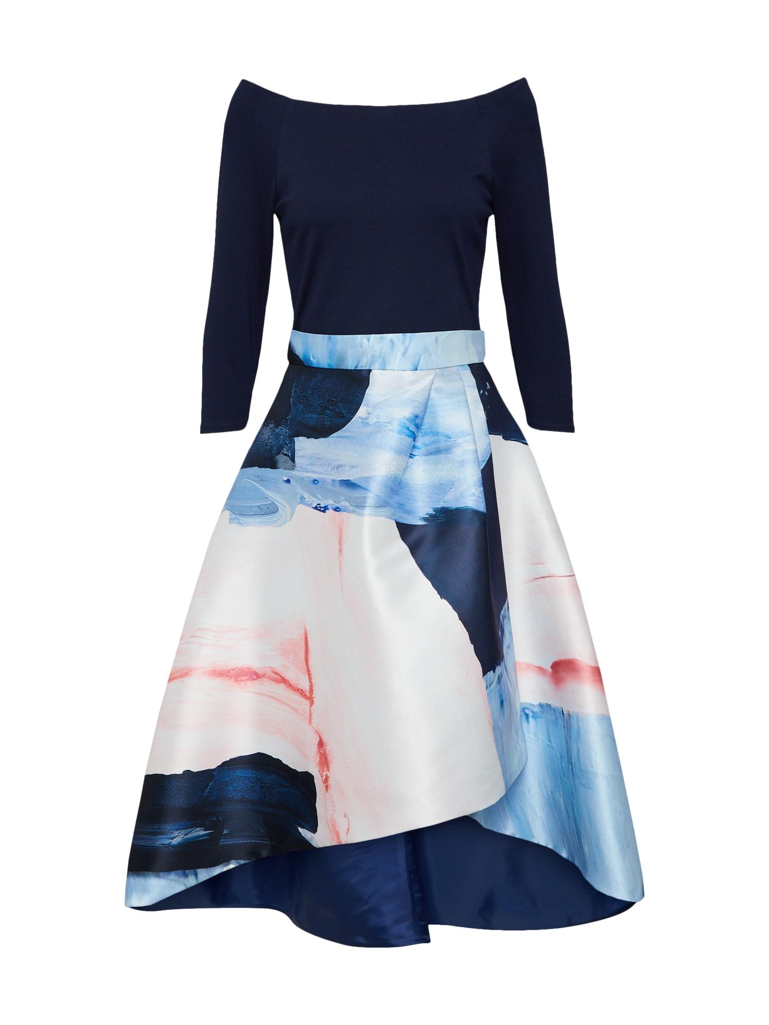 Šaty Marini Chloi noční modrá mix barev Coast