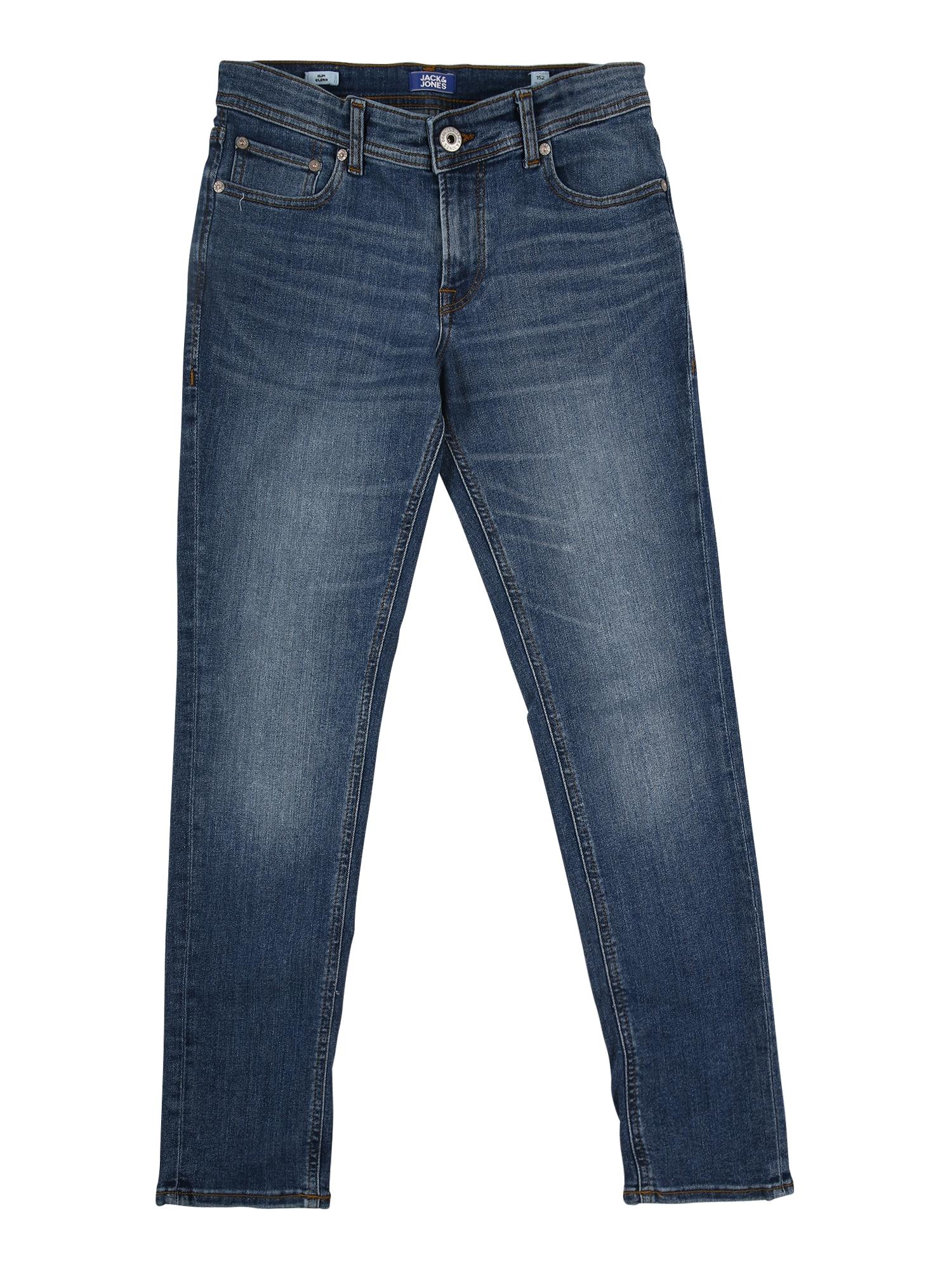 Jack & Jones Junior Džinsai tamsiai (džinso) mėlyna