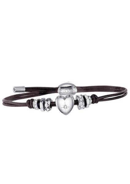 Armbaender für Frauen - FOSSIL 2 rhg. Armband dunkelbraun  - Onlineshop ABOUT YOU