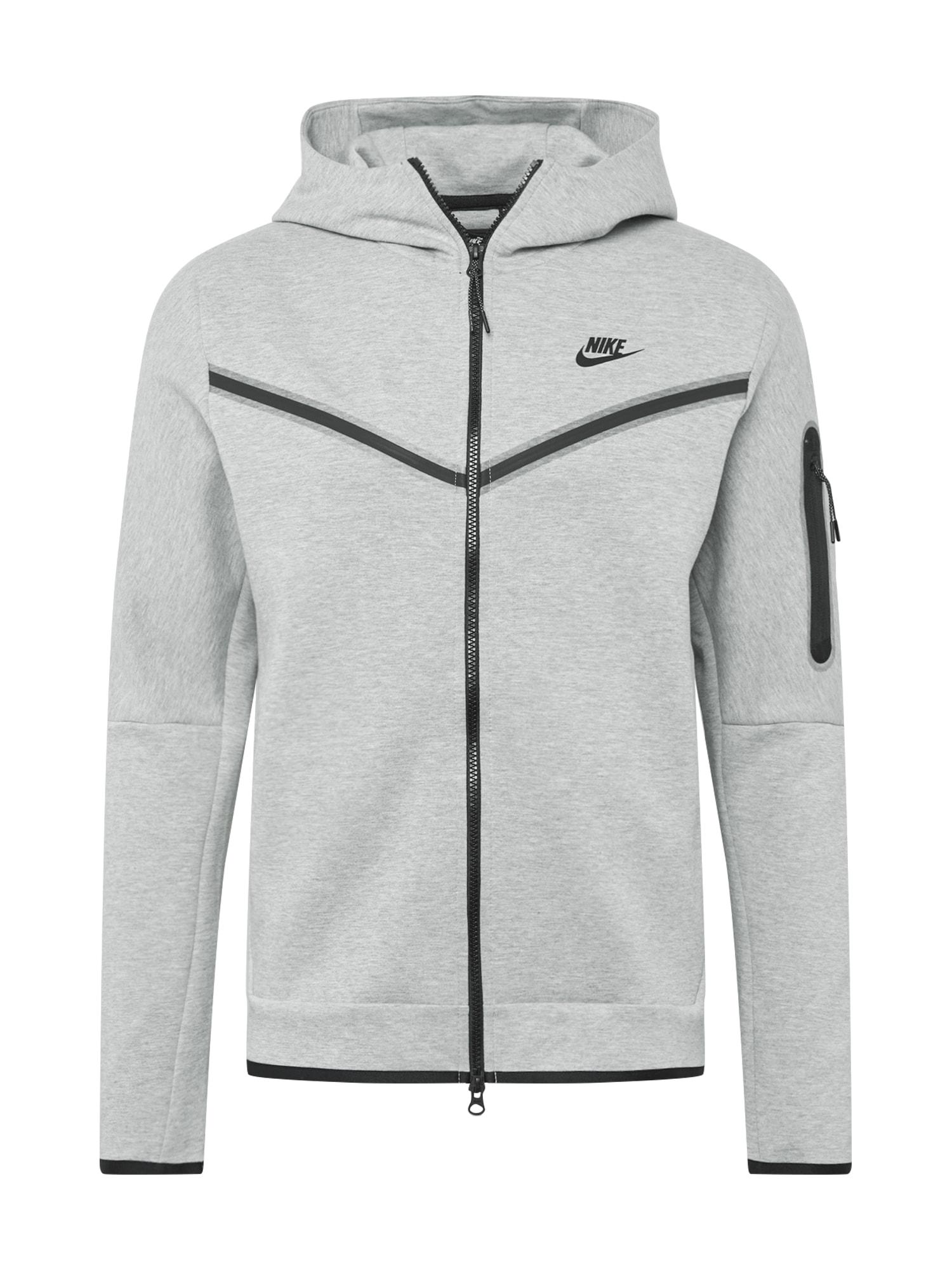 Nike Sportswear Džemperis juoda / pilka