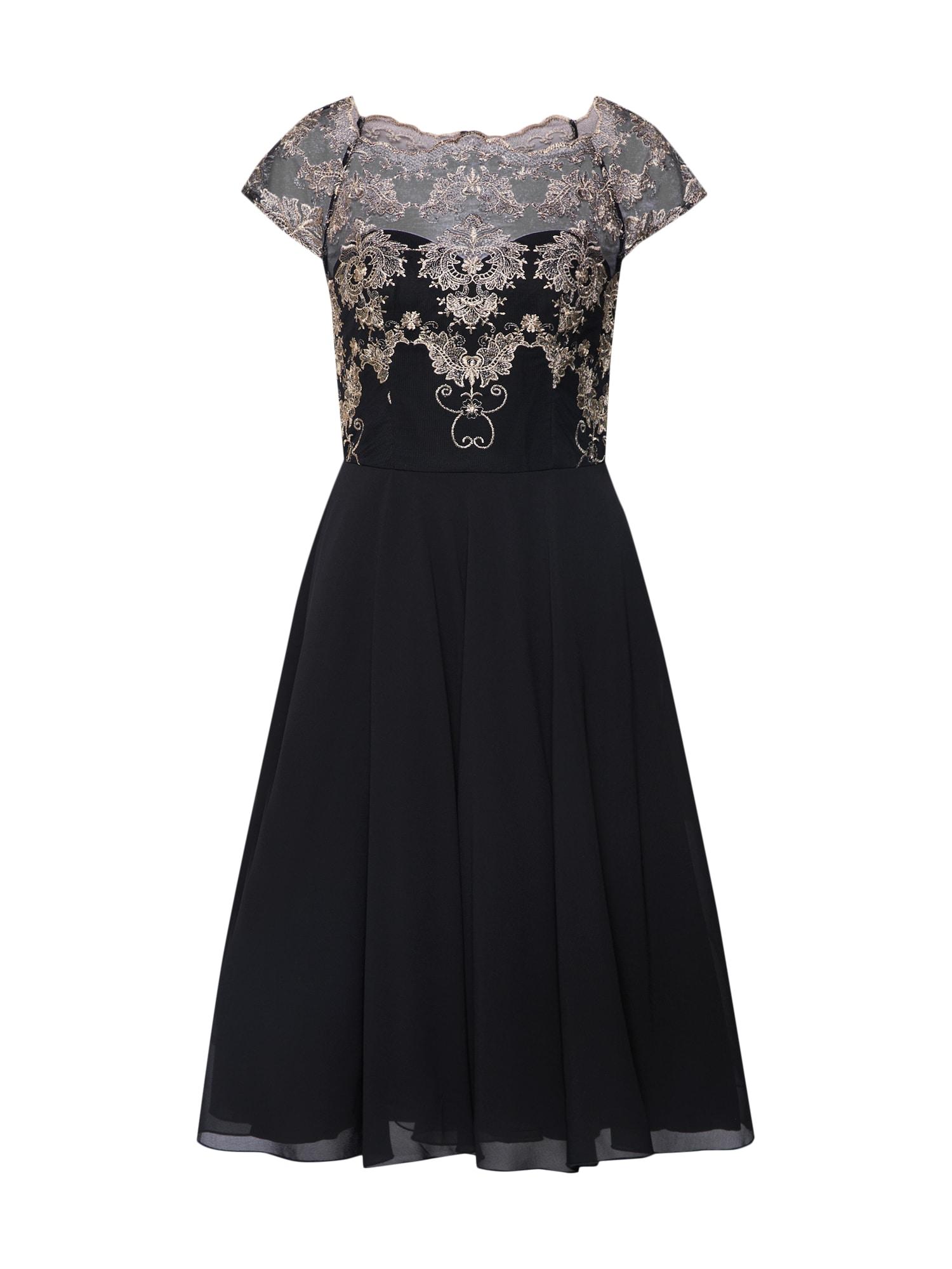 Chi Chi London Kokteilinė suknelė 'Domenica' juoda