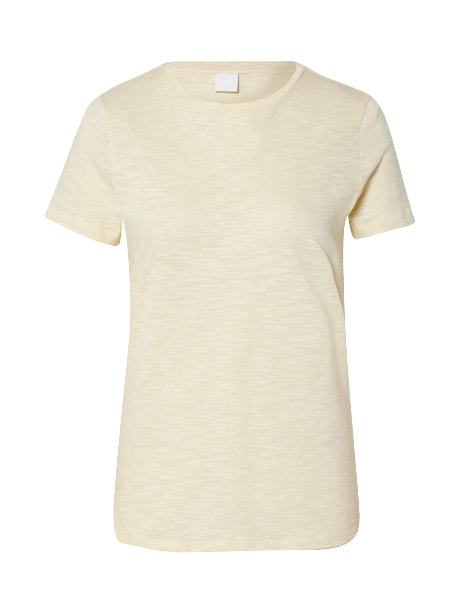 BOSS Marškinėliai 'Tesue' geltona