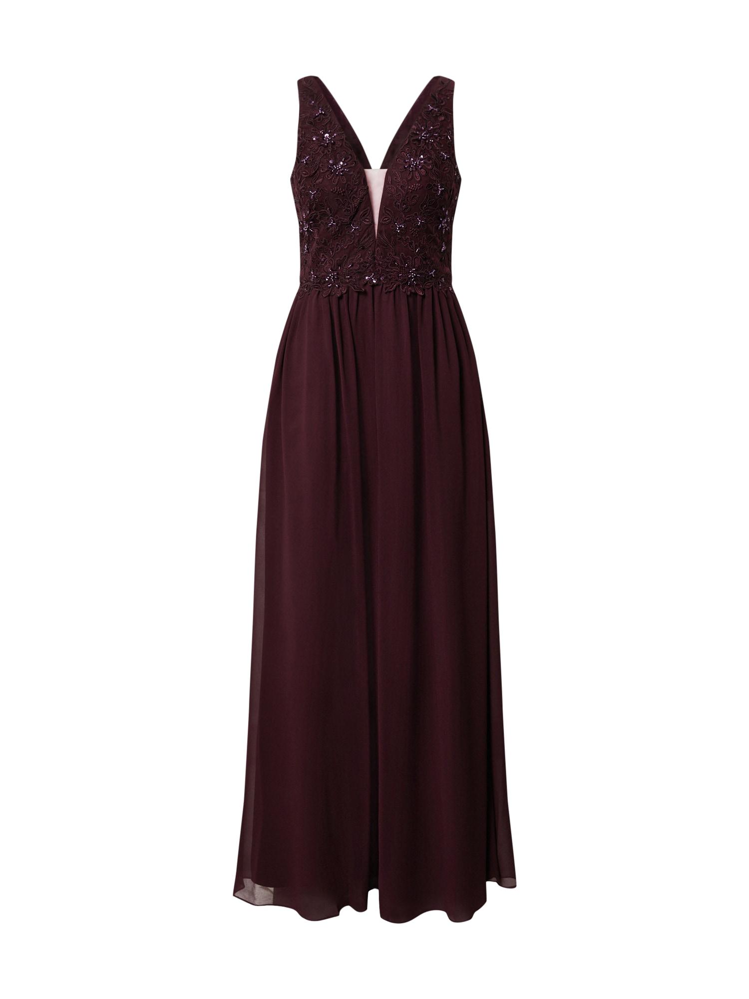 Unique Vakarinė suknelė tamsiai violetinė