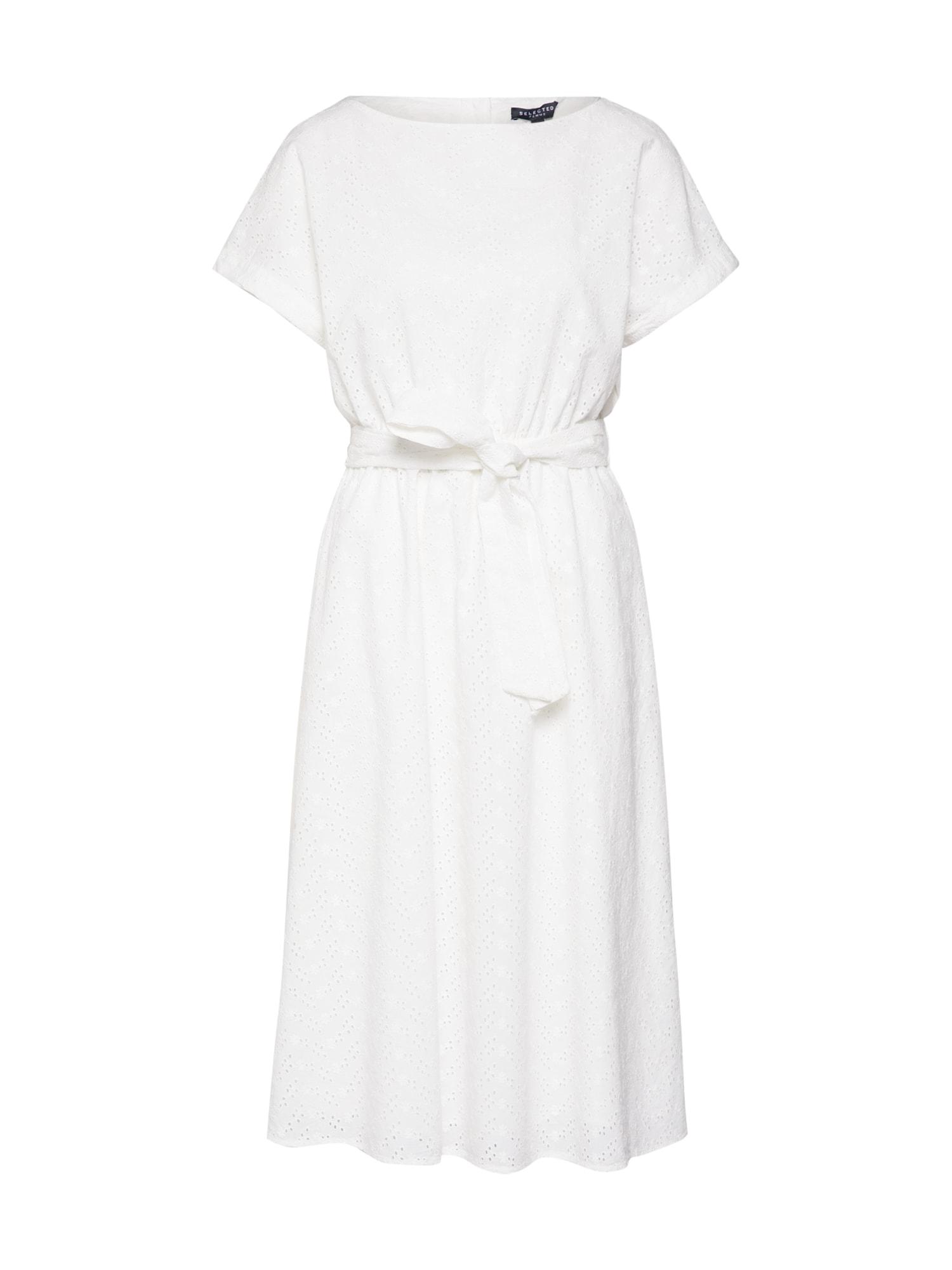 Šaty bílá SELECTED FEMME