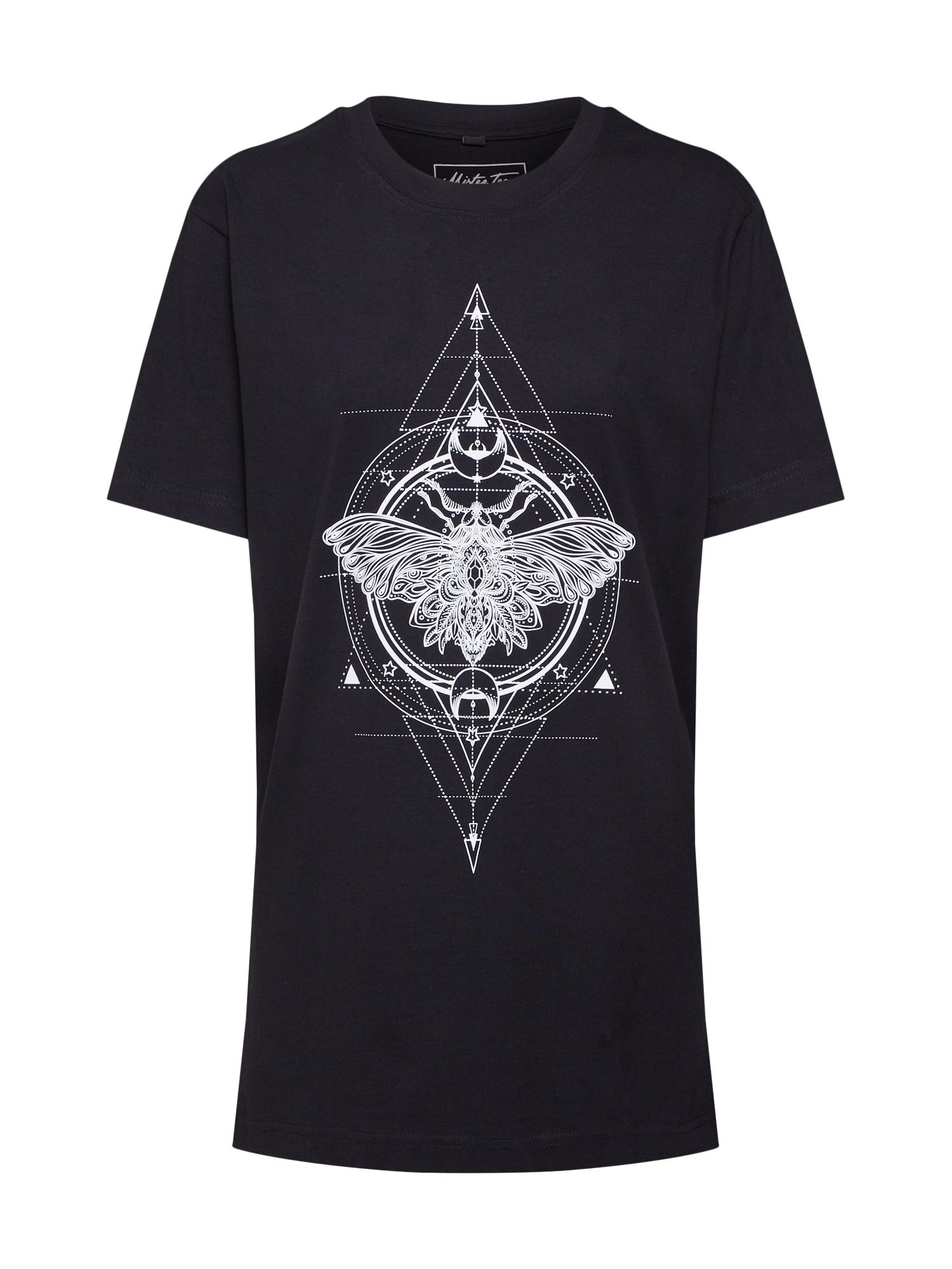 Merchcode Tričko 'Ladies Moth'  zmiešané farby / čierna