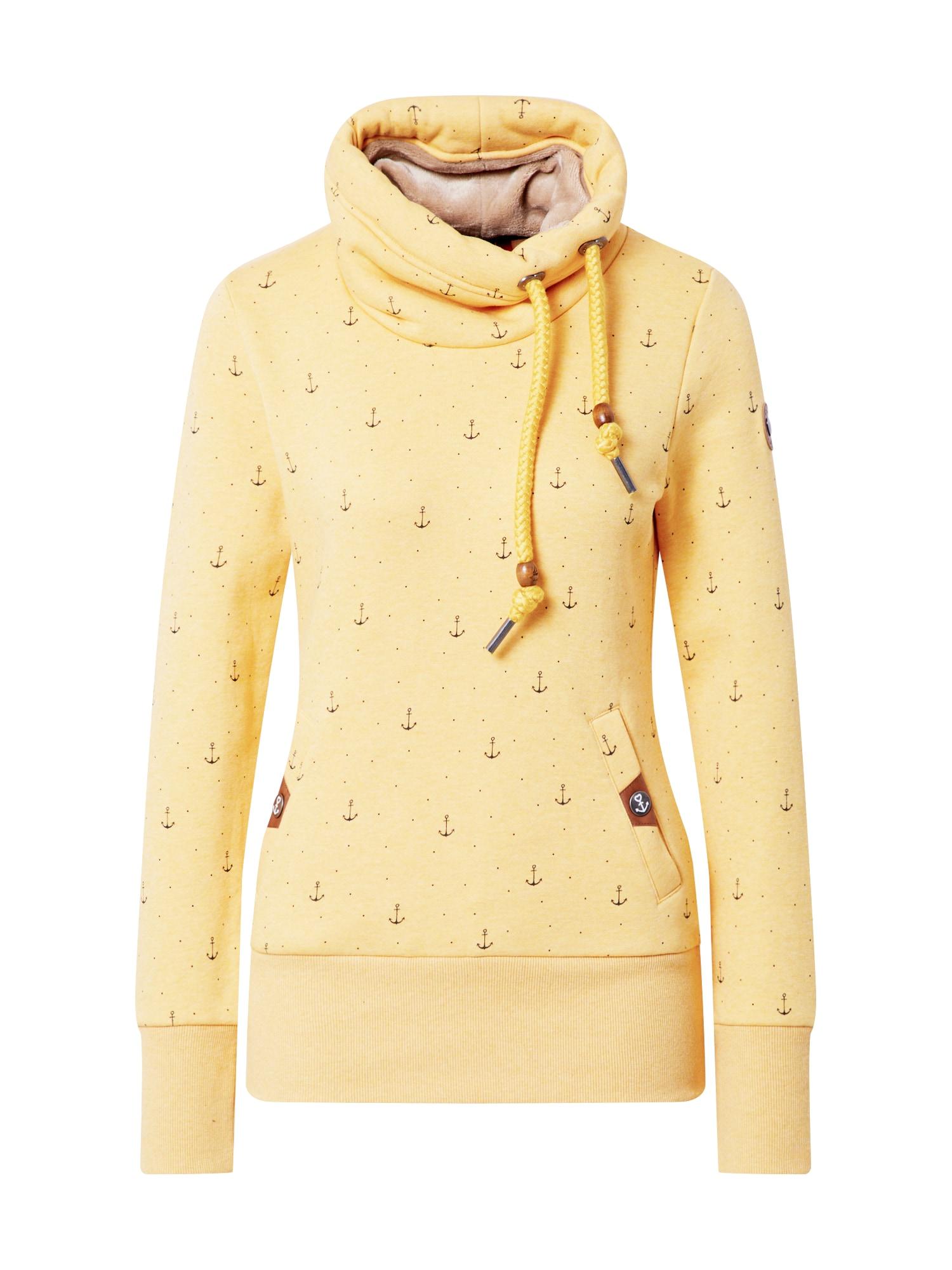 Ragwear Bluză de molton 'RYLIE MARINA'  galben